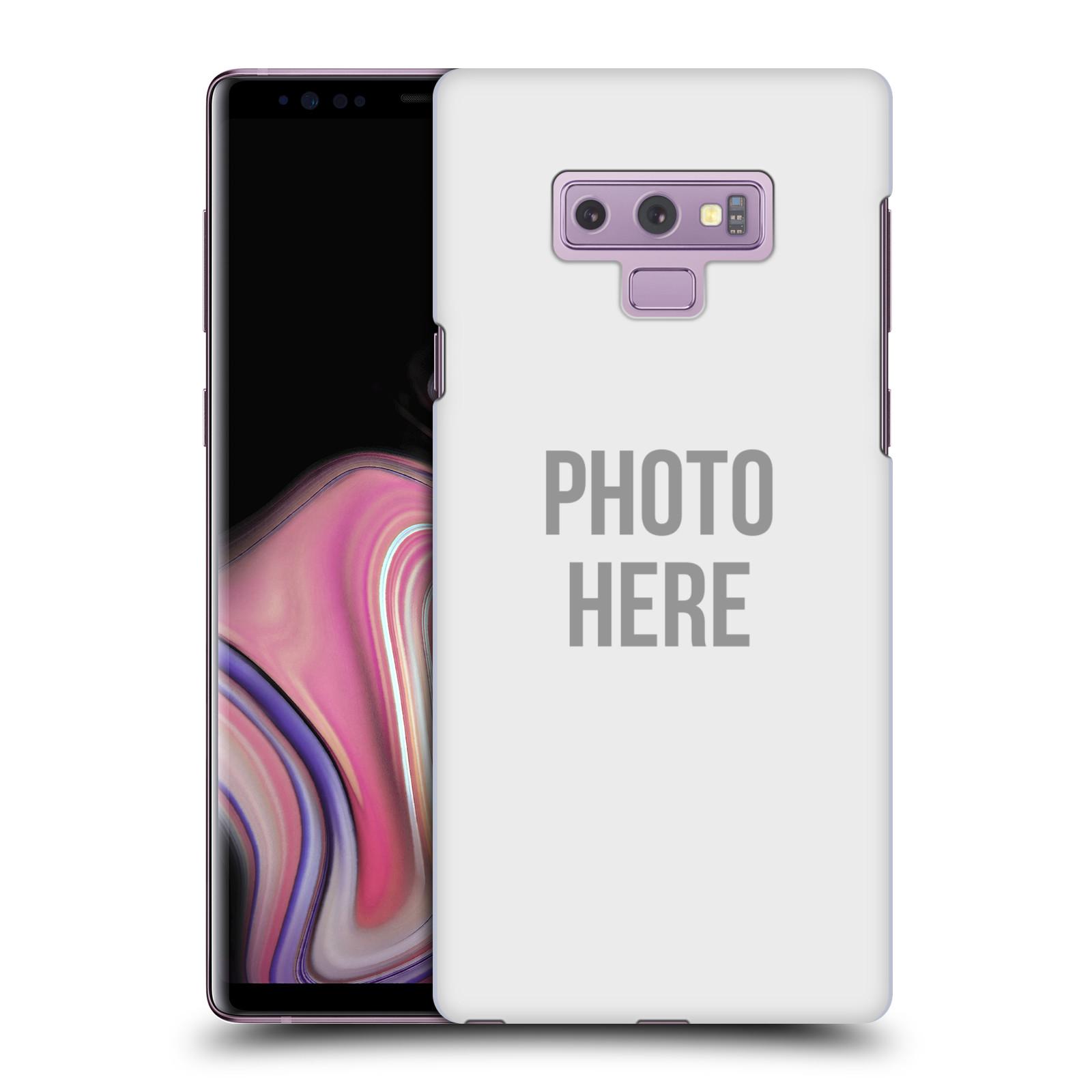Plastové pouzdro na mobil Samsung Galaxy Note 9 - Head Case - s vlastním motivem