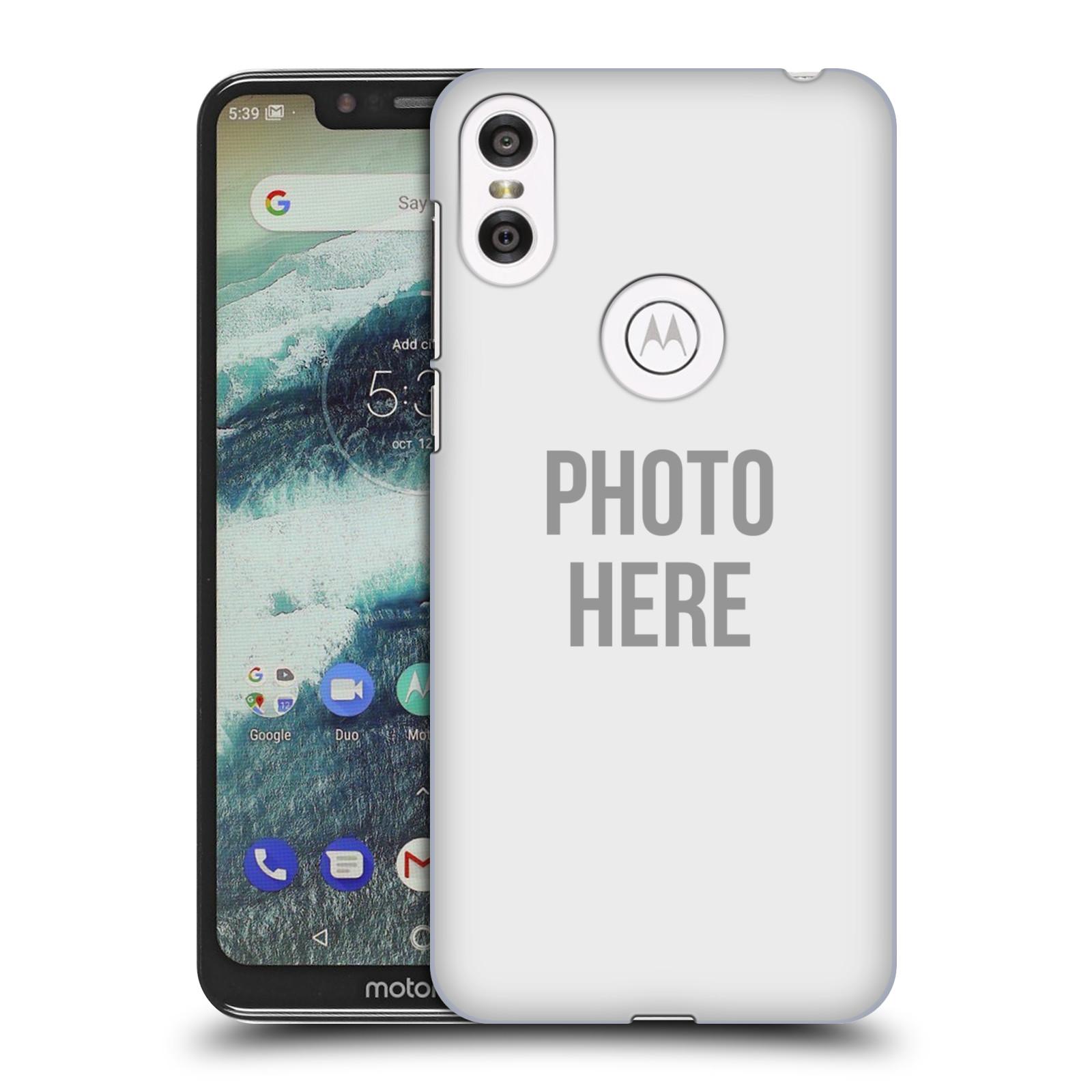 Plastové pouzdro na mobil Motorola One - Head Case - s vlastním motivem
