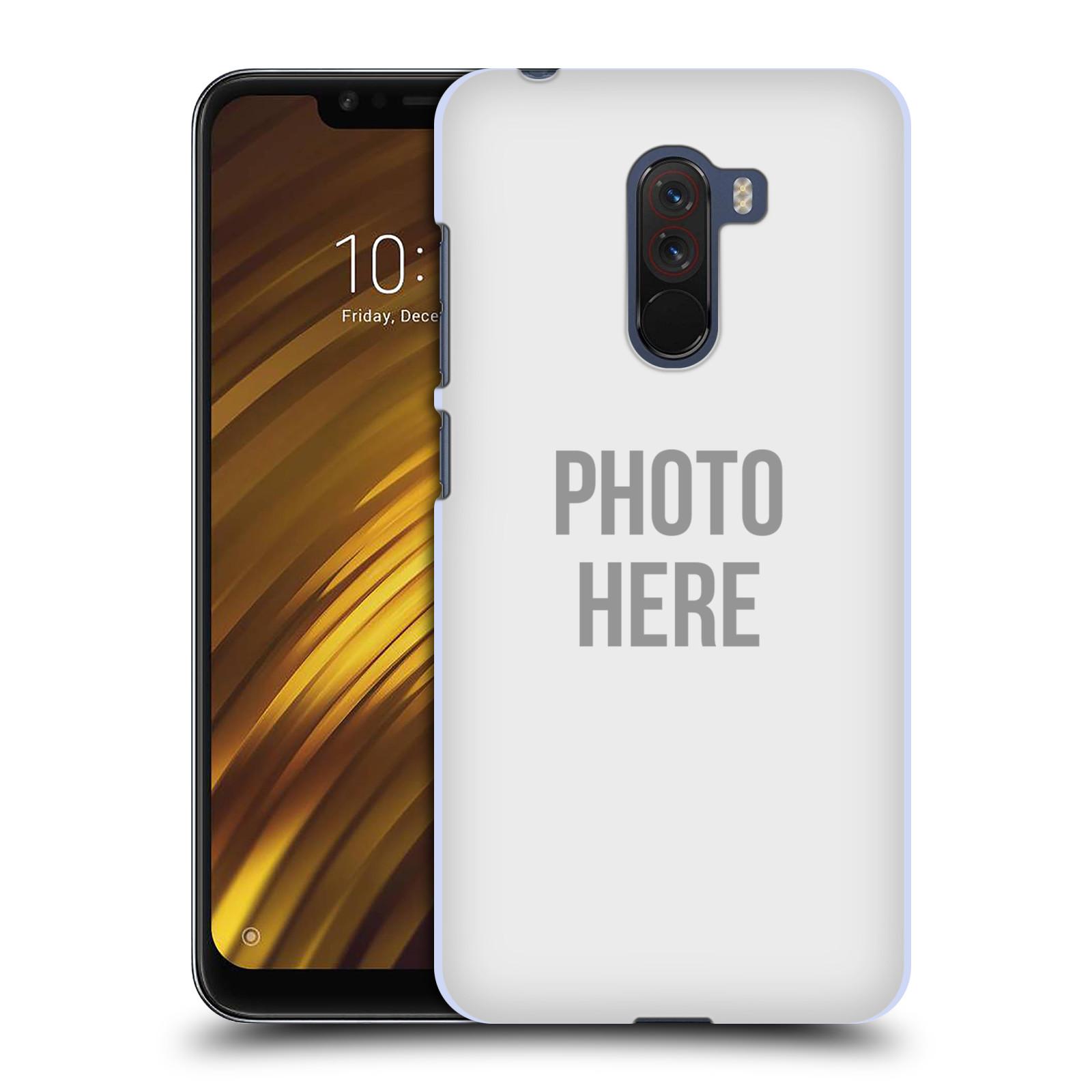 Plastové pouzdro na mobil Xiaomi Pocophone F1 - Head Case - s vlastním motivem