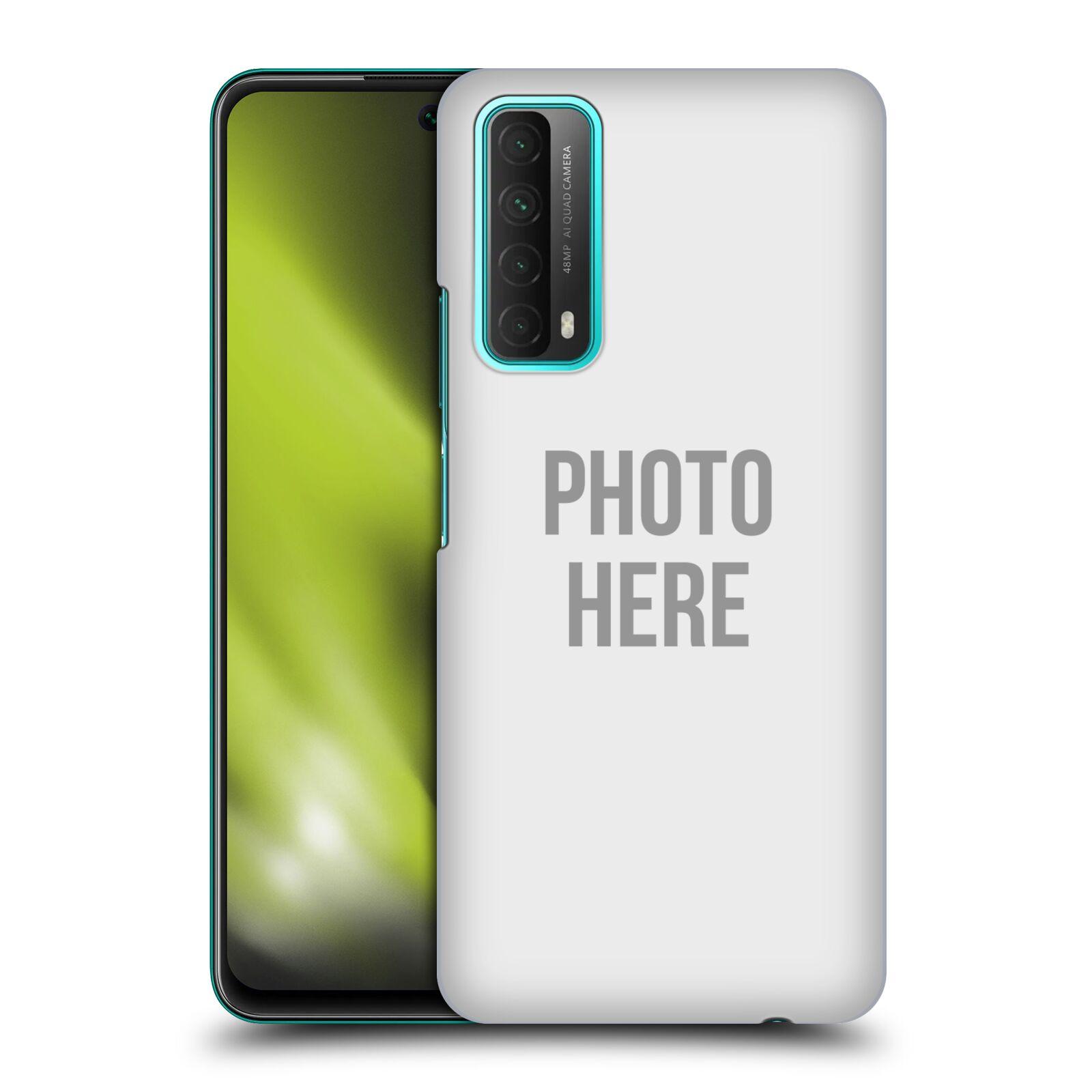 Plastové pouzdro na mobil Huawei P Smart (2021) s vlastním motivem