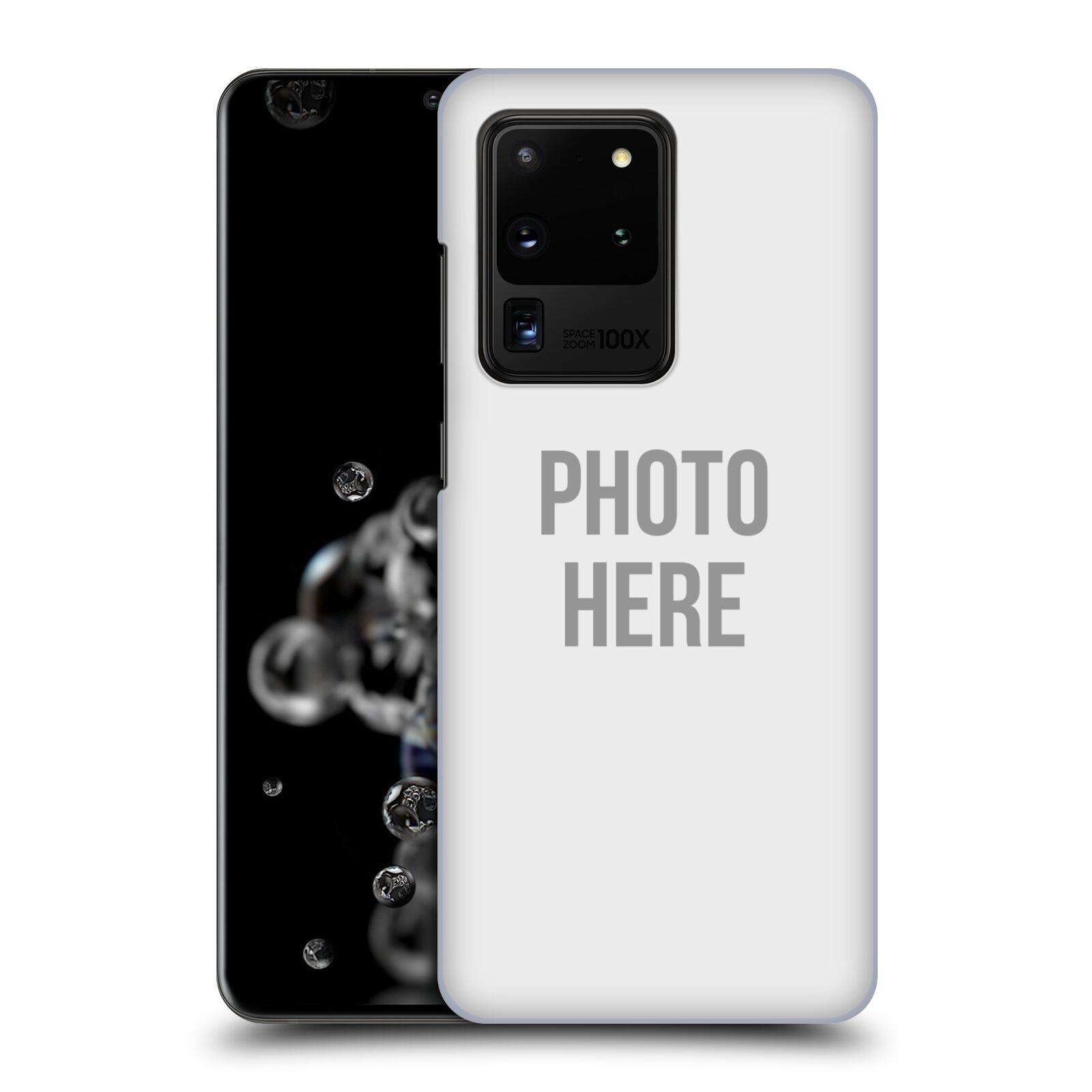 Plastové pouzdro na mobil Samsung Galaxy S20 Ultra - Head Case - s vlastním motivem