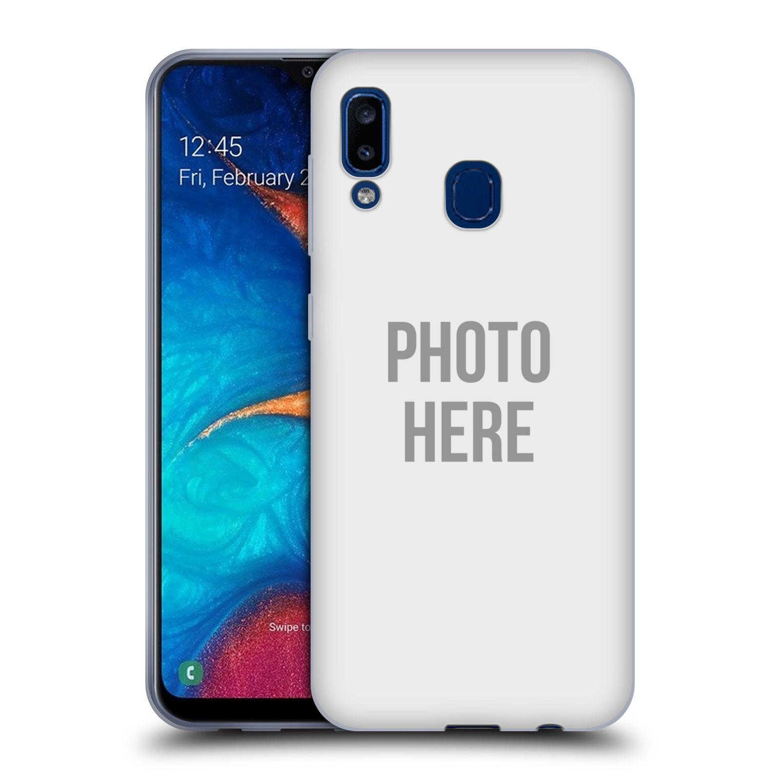 Silikonové pouzdro na mobil Samsung Galaxy A20 - Head Case - s vlastním motivem