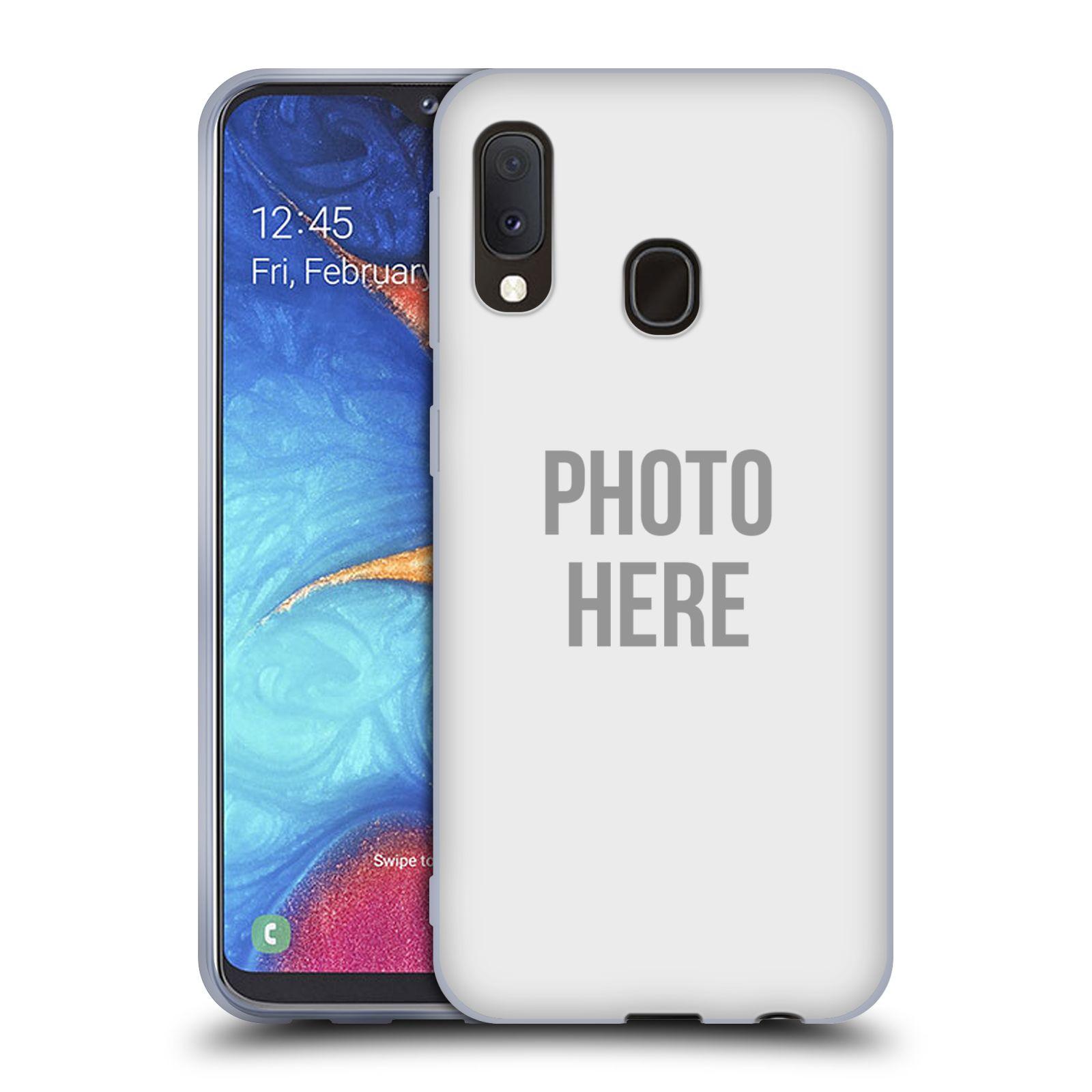 Silikonové pouzdro na mobil Samsung Galaxy A20e - Head Case - s vlastním motivem