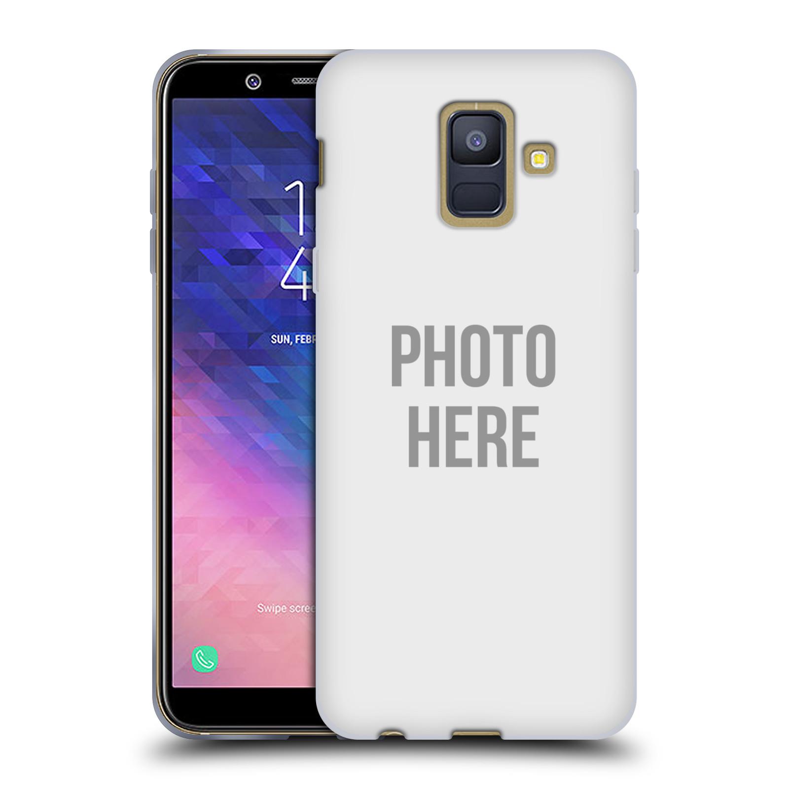 Silikonové pouzdro na mobil Samsung Galaxy A6 (2018) - Head Case - s vlastním motivem