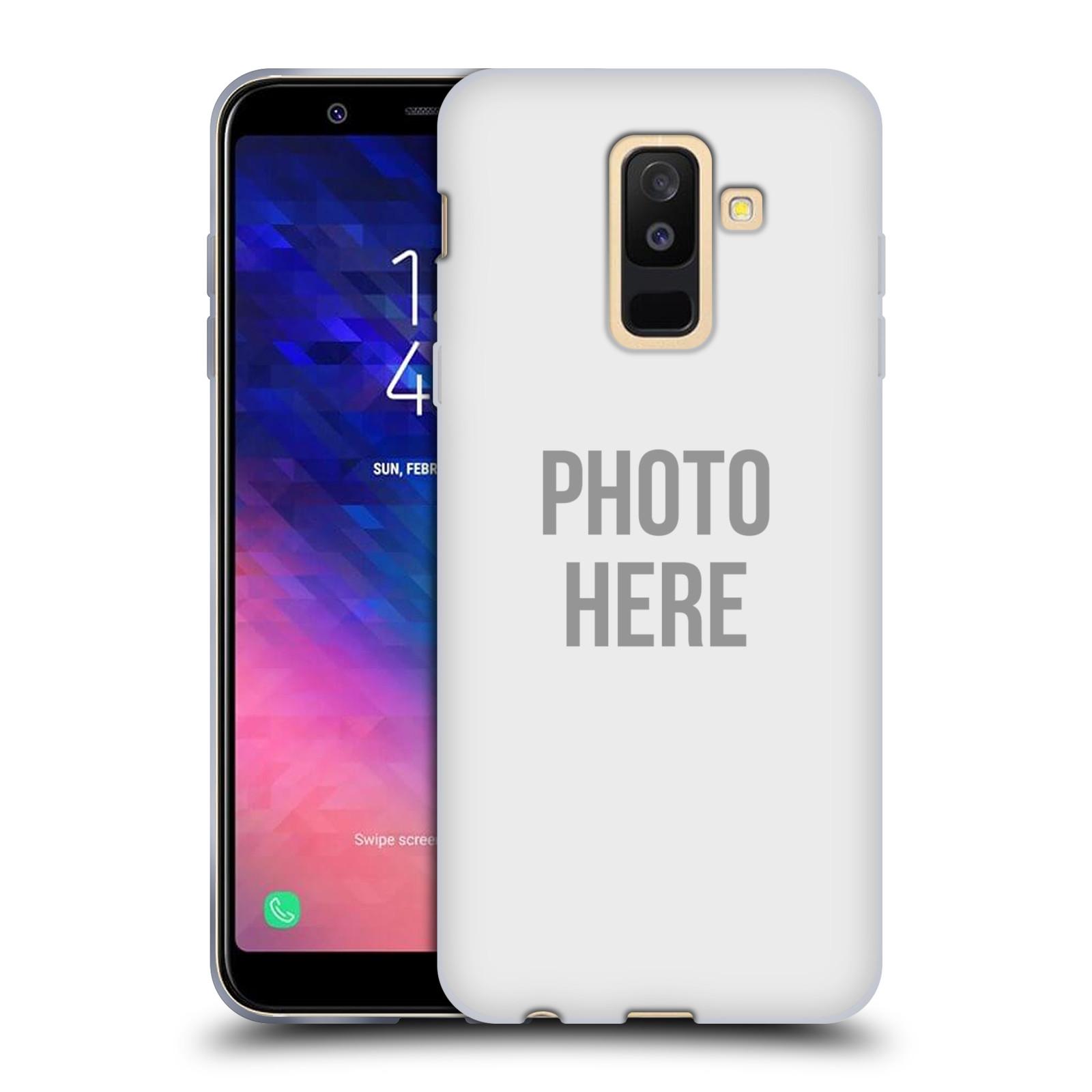 Silikonové pouzdro na mobil Samsung Galaxy A6 Plus (2018) - Head Case - s vlastním motivem