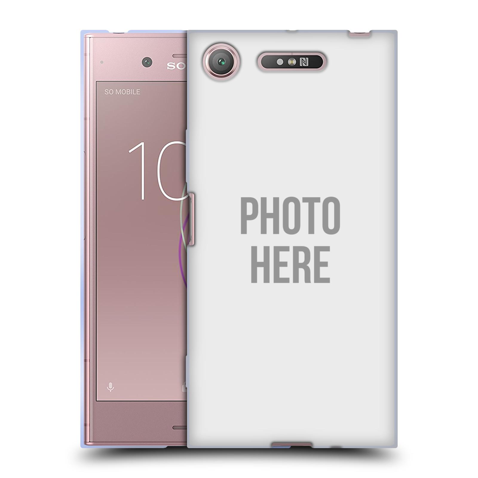 Silikonové pouzdro na mobil Sony Xperia XZ1 - Head Case - s vlastním motivem