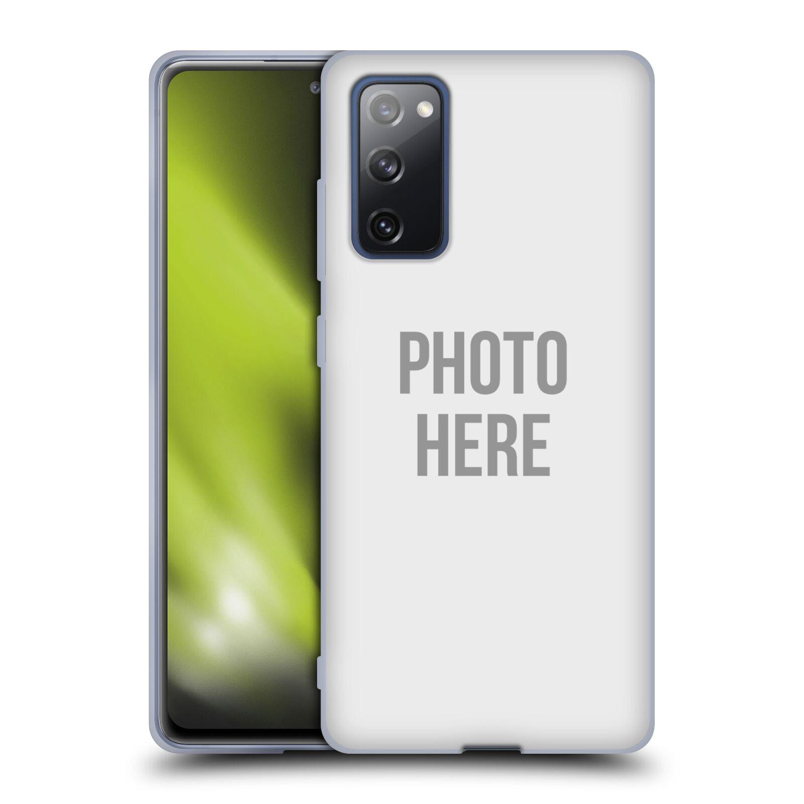 Silikonové pouzdro na mobil Samsung Galaxy S20 FE s vlastním motivem