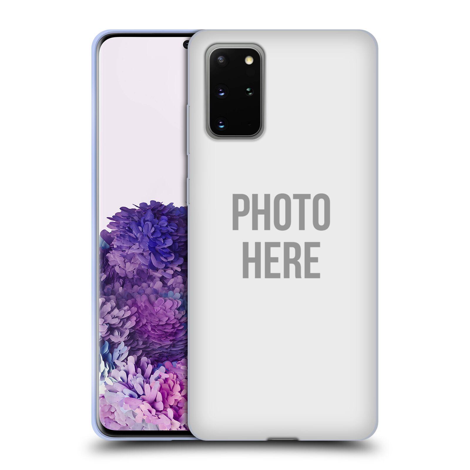 Silikonové pouzdro na mobil Samsung Galaxy S20 Plus - Head Case - s vlastním motivem