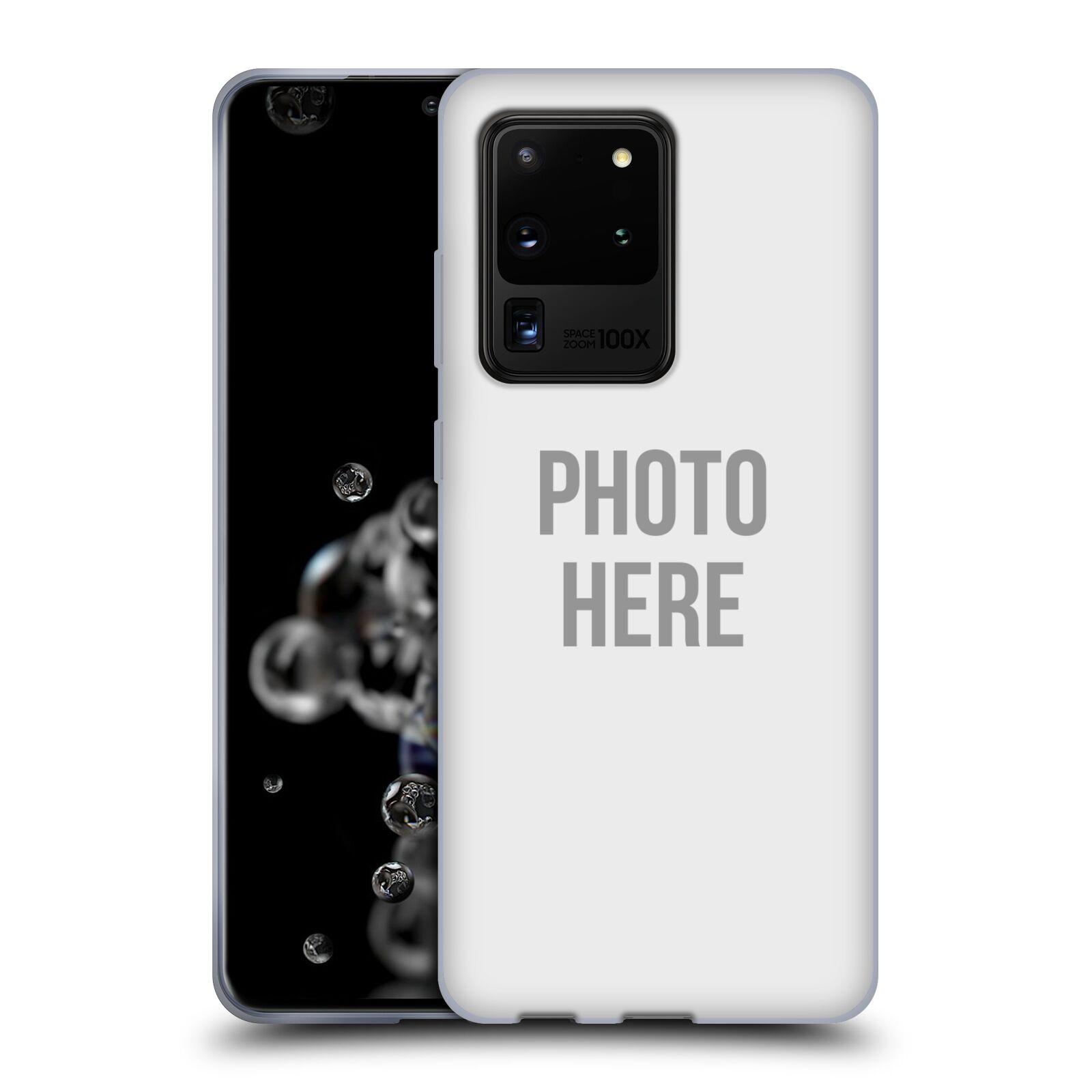 Silikonové pouzdro na mobil Samsung Galaxy S20 Ultra - Head Case - s vlastním motivem