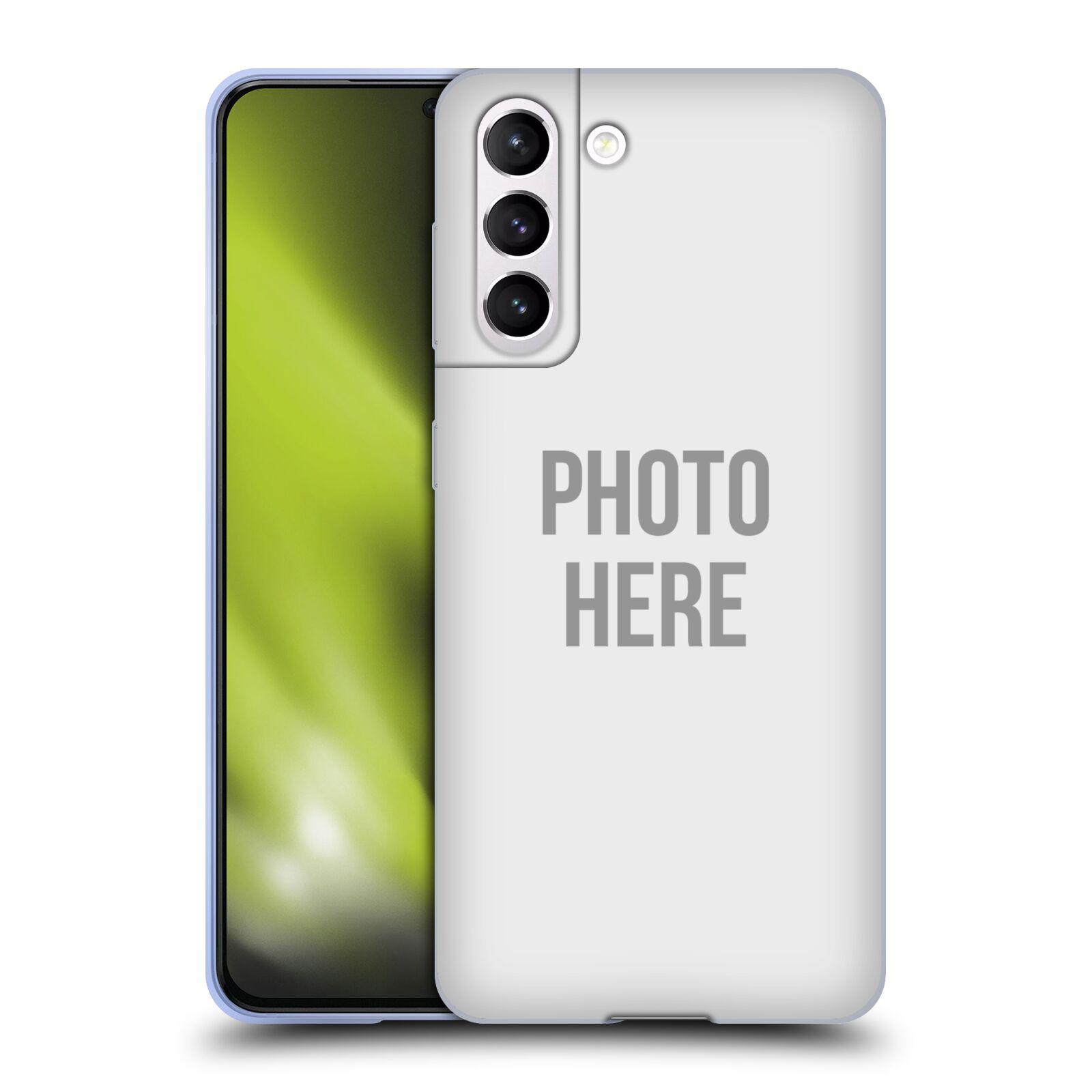 Silikonové pouzdro na mobil Samsung Galaxy S21 5G s vlastním motivem