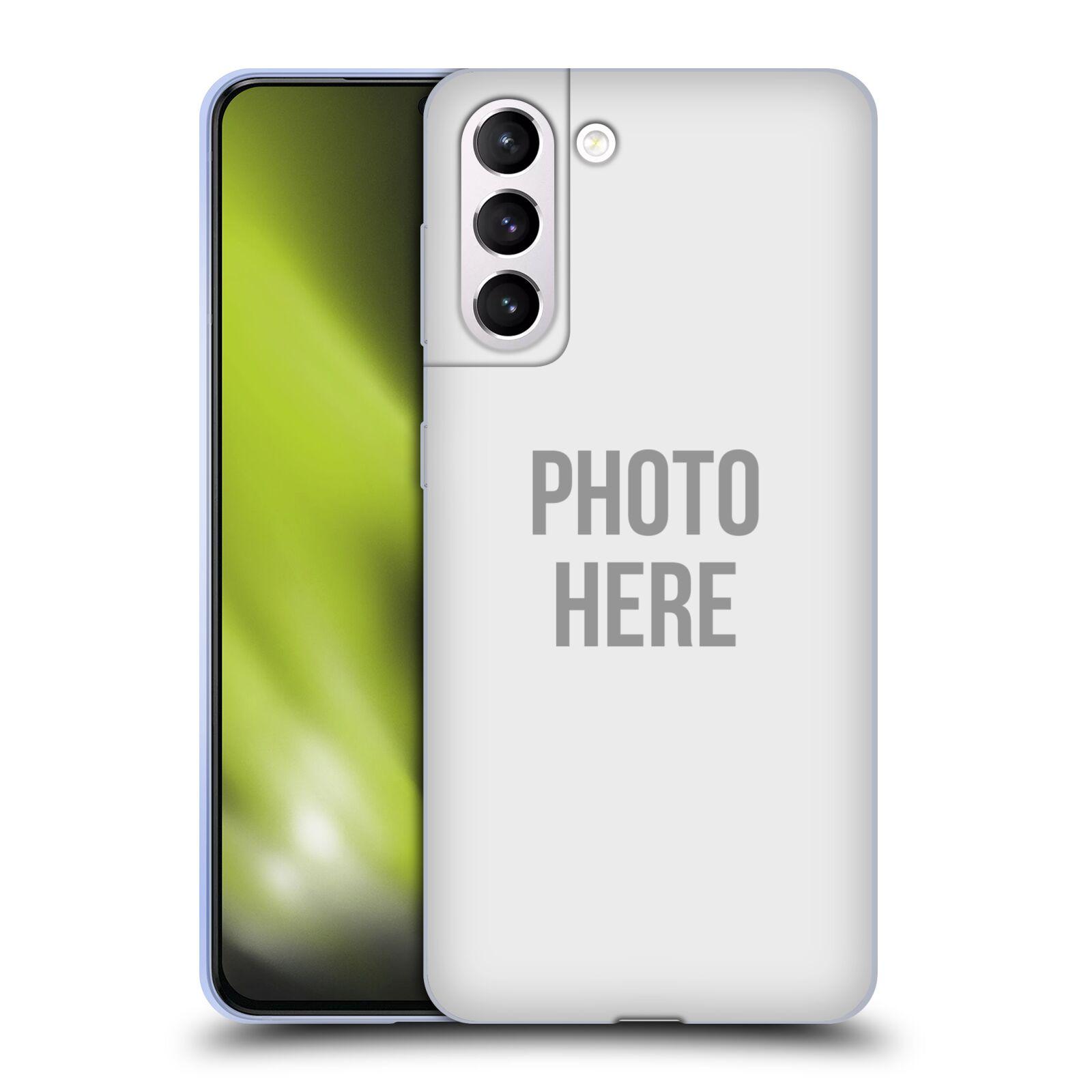 Silikonové pouzdro na mobil Samsung Galaxy S21 Plus 5G s vlastním motivem