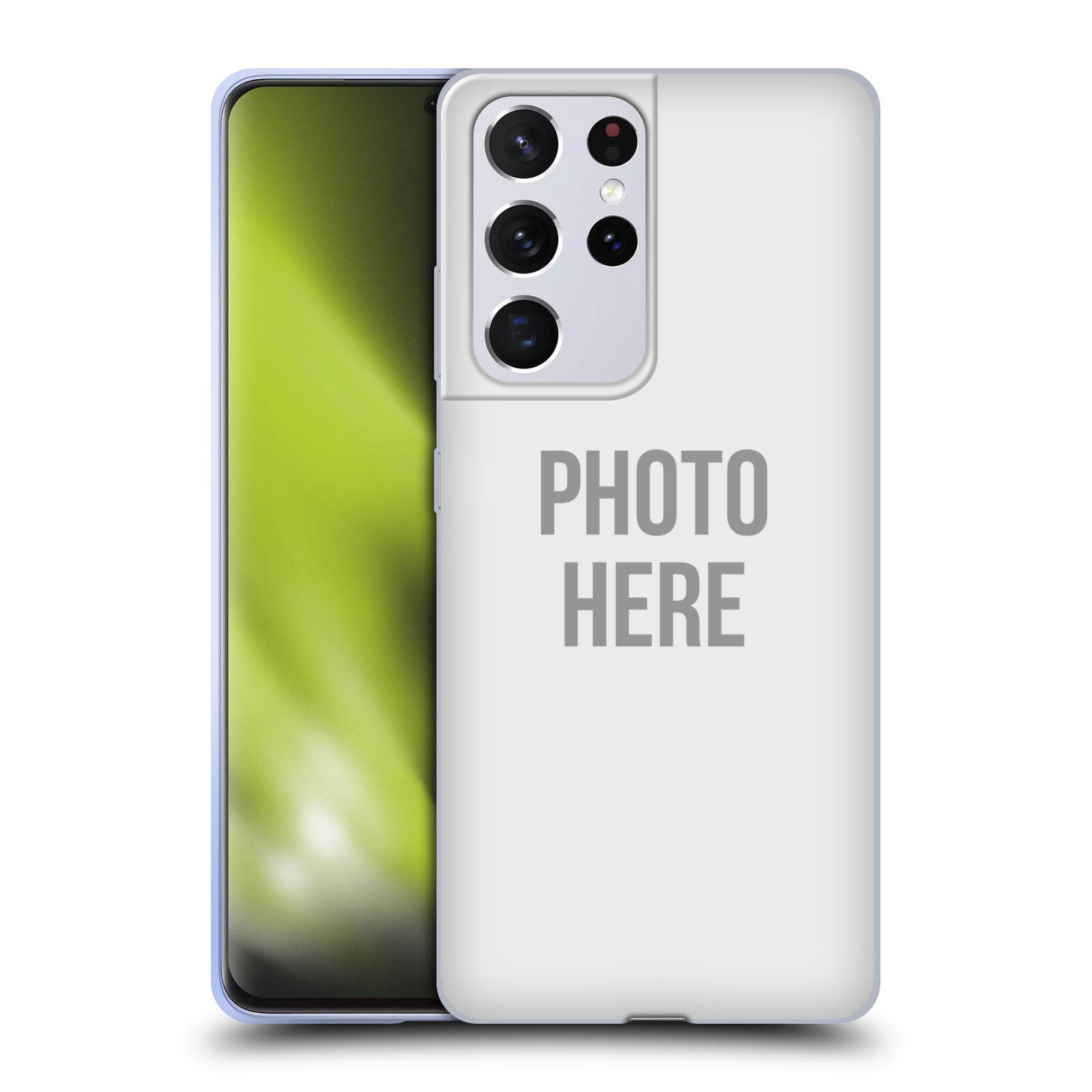 Silikonové pouzdro na mobil Samsung Galaxy S21 Ultra 5G s vlastním motivem