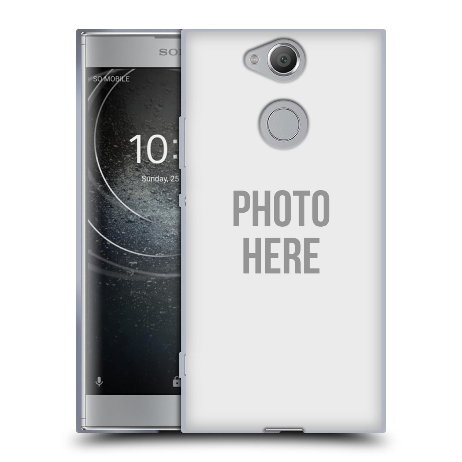 Silikonové pouzdro na mobil Sony Xperia XA2 - Head Case - s vlastním motivem