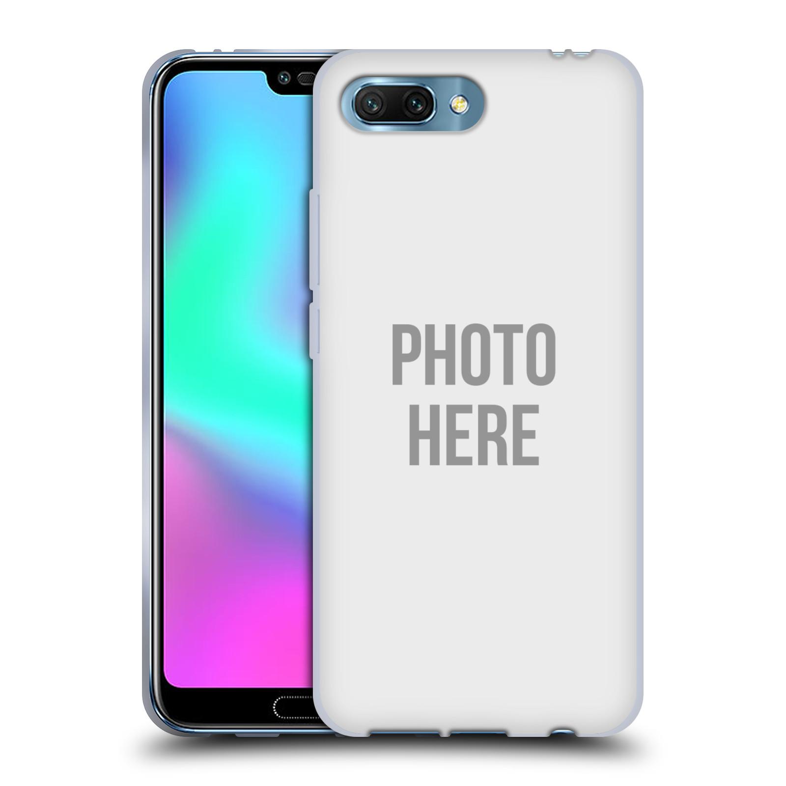 Silikonové pouzdro na mobil Honor 10 - Head Case - s vlastním motivem