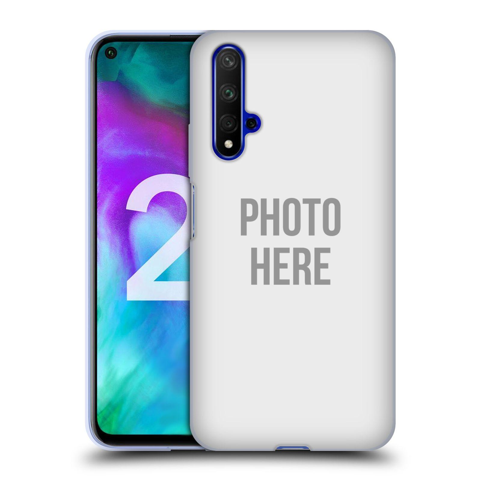 Silikonové pouzdro na mobil Honor 20 - Head Case - s vlastním motivem