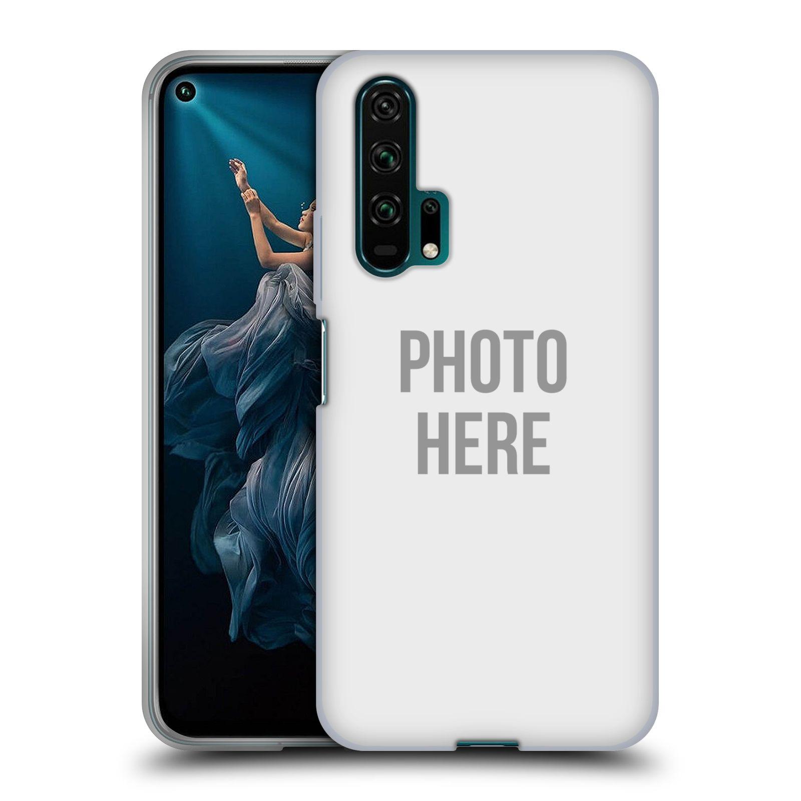 Silikonové pouzdro na mobil Honor 20 Pro - Head Case - s vlastním motivem