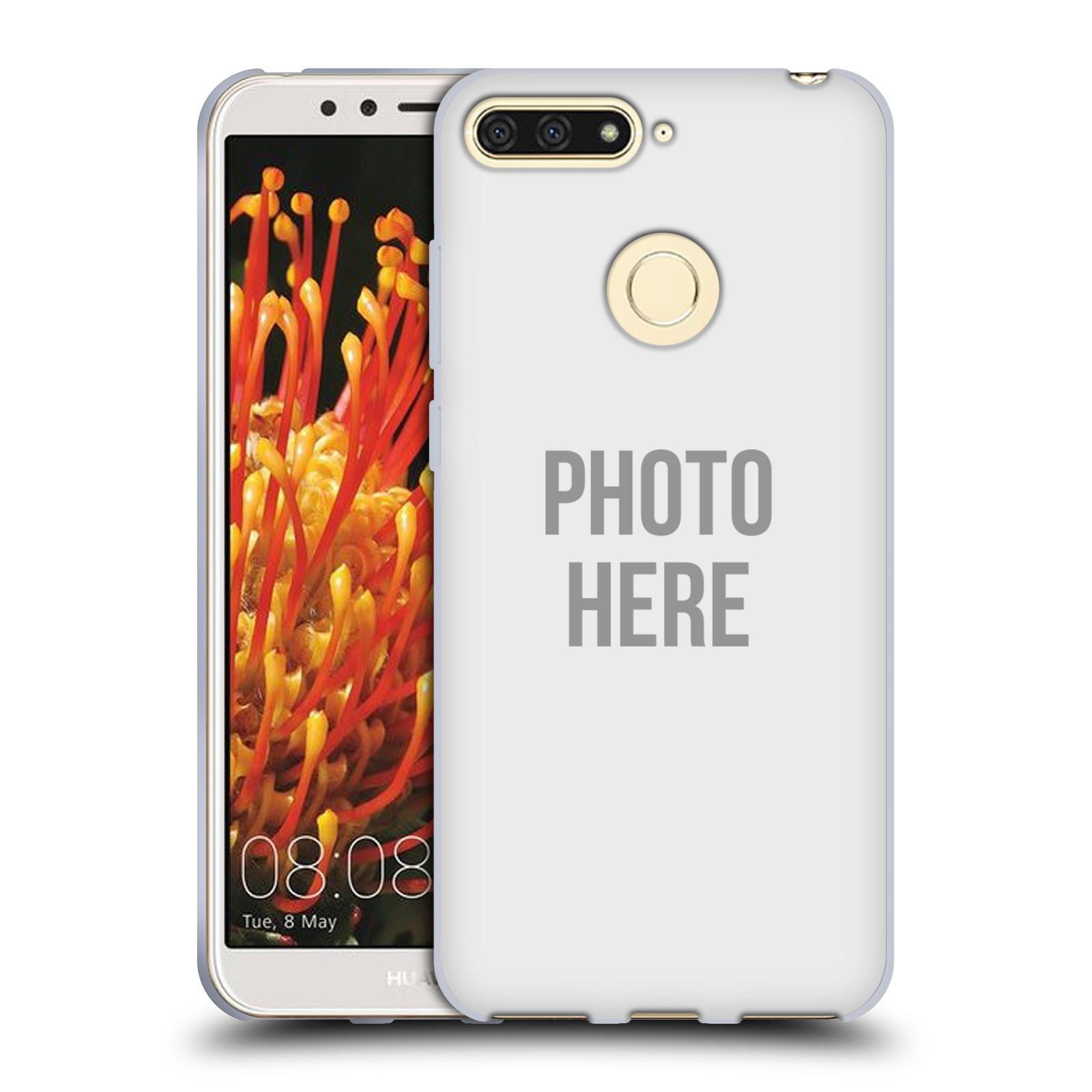 Silikonové pouzdro na mobil Huawei Y6 Prime (2018) - Head Case - s vlastním motivem