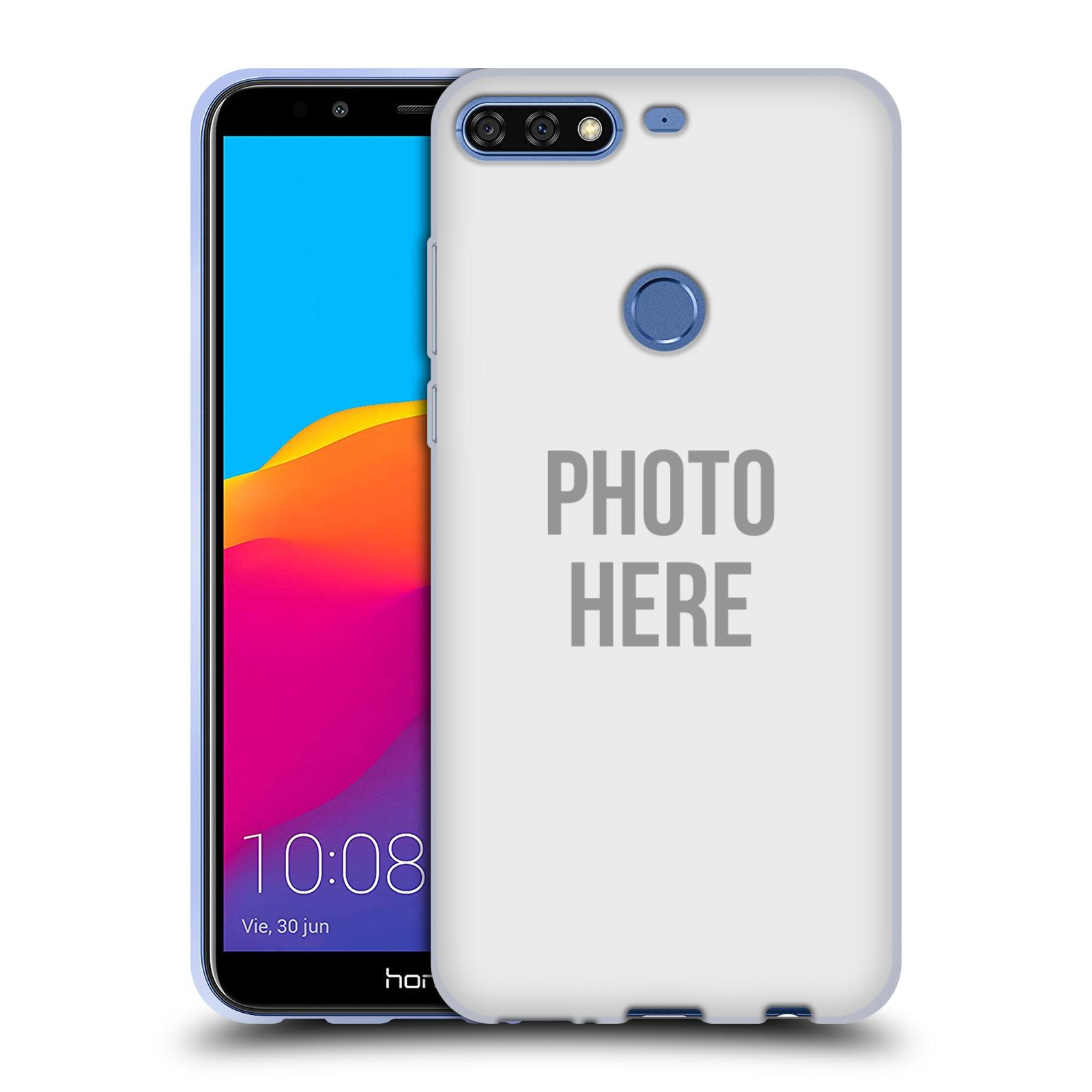 Silikonové pouzdro na mobil Huawei Y7 Prime (2018) - Head Case - s vlastním motivem