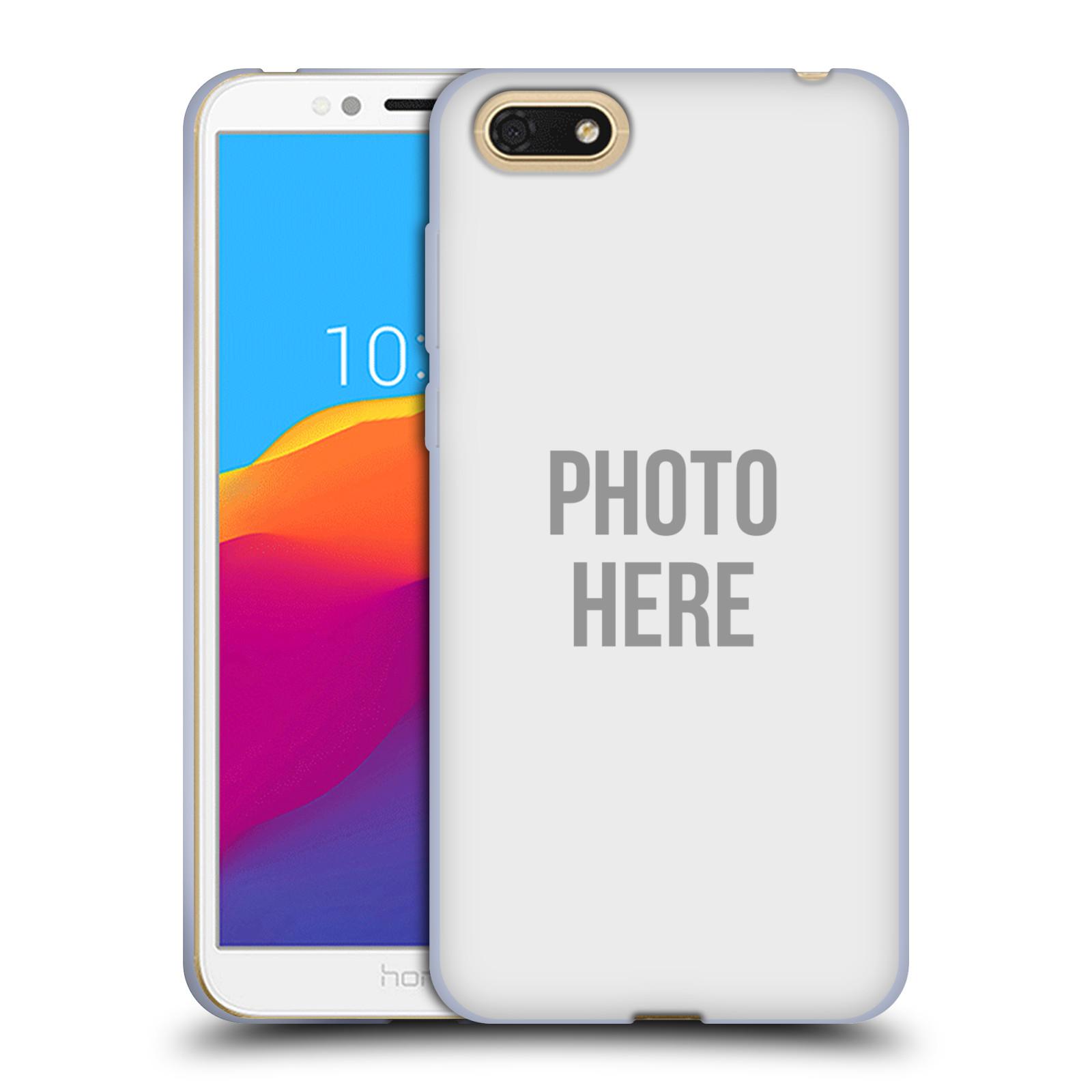 Silikonové pouzdro na mobil Honor 7S - Head Case - s vlastním motivem