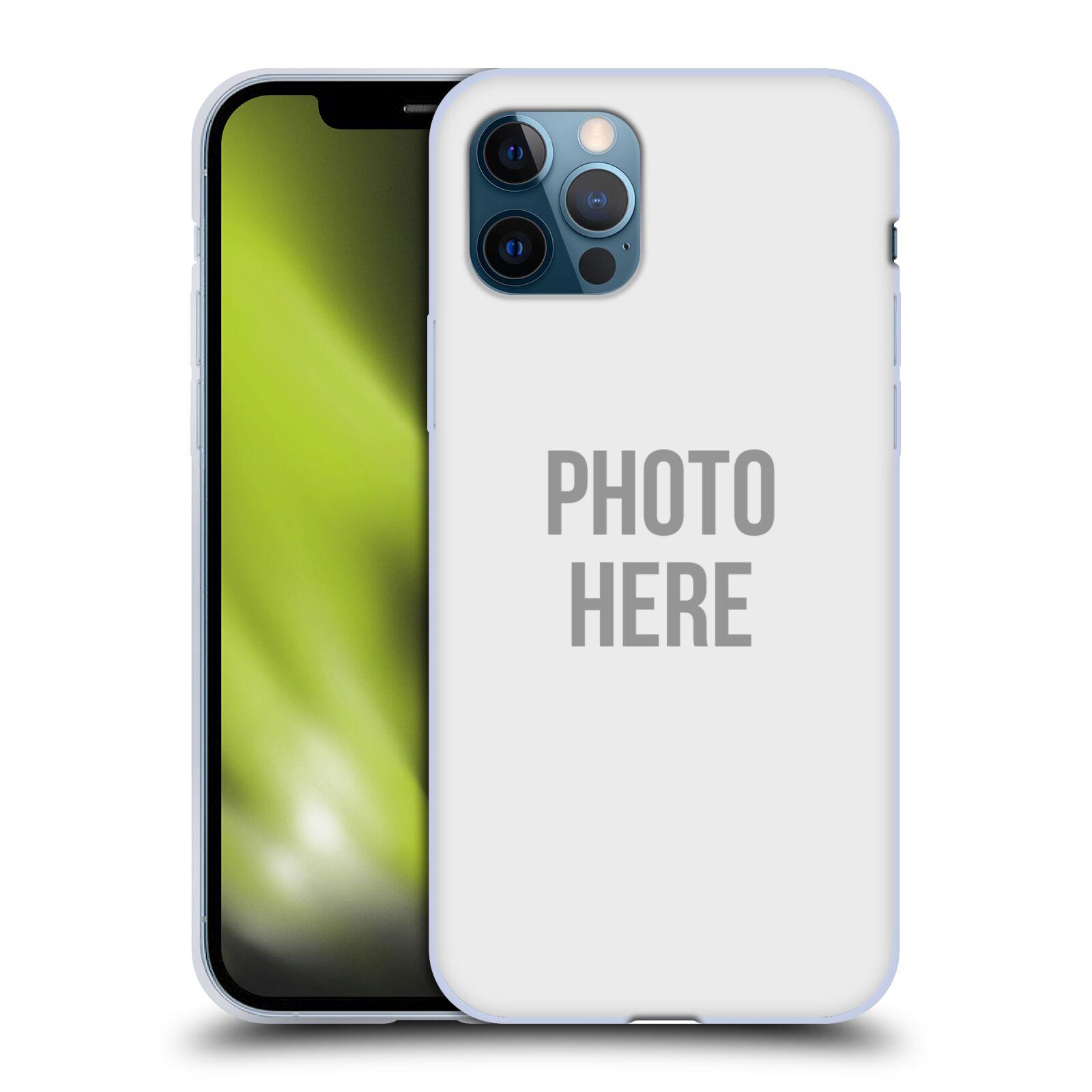 Silikonové pouzdro na mobil Apple iPhone 12 / 12 Pro s vlastním motivem