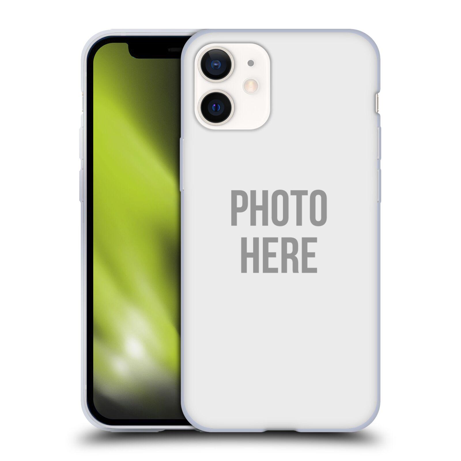 Silikonové pouzdro na mobil Apple iPhone 12 Mini s vlastním motivem