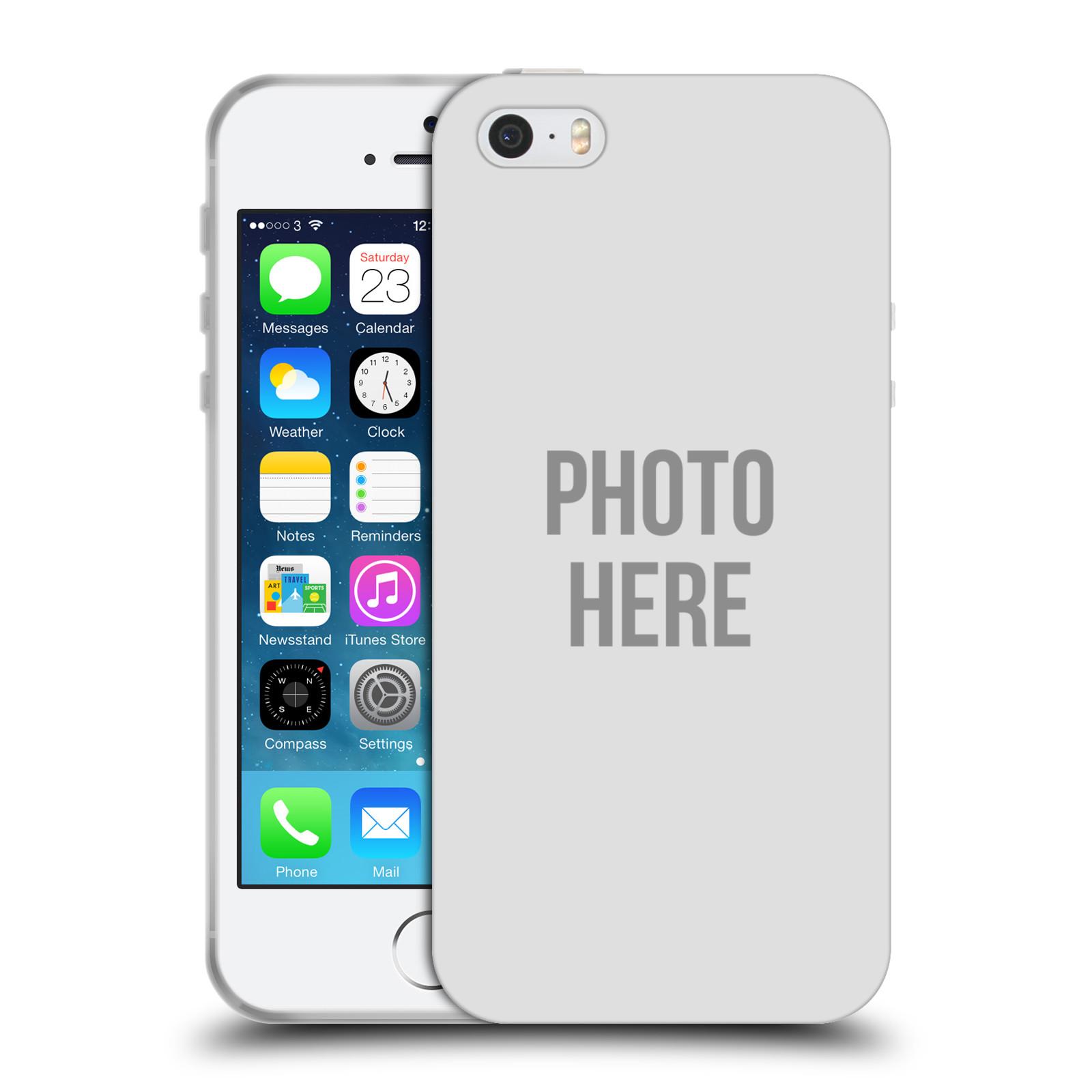 Silikonové pouzdro na mobil Apple iPhone 5 ac4ca441593