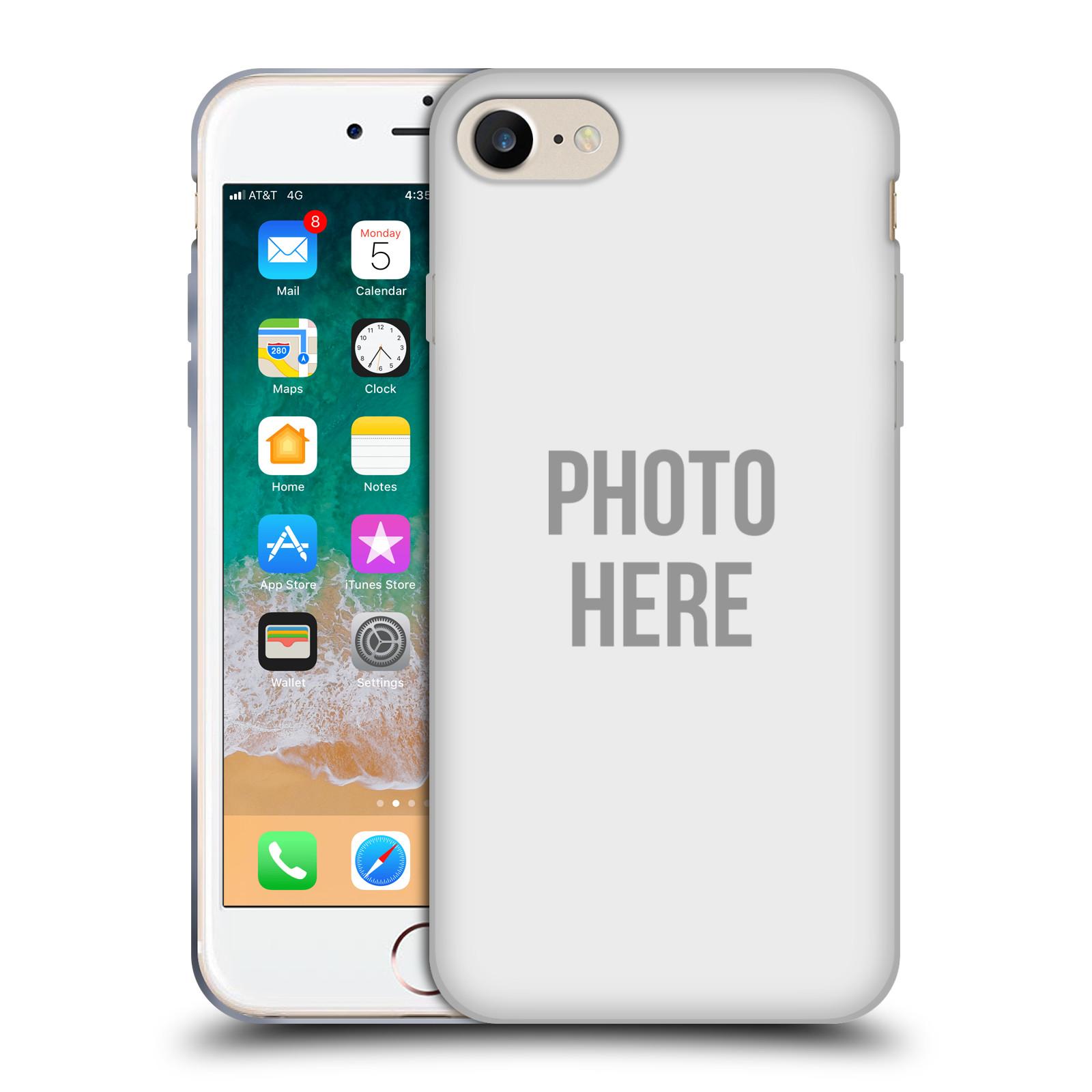 Silikonové pouzdro na mobil Apple iPhone SE (2020) - Head Case - s vlastním motivem