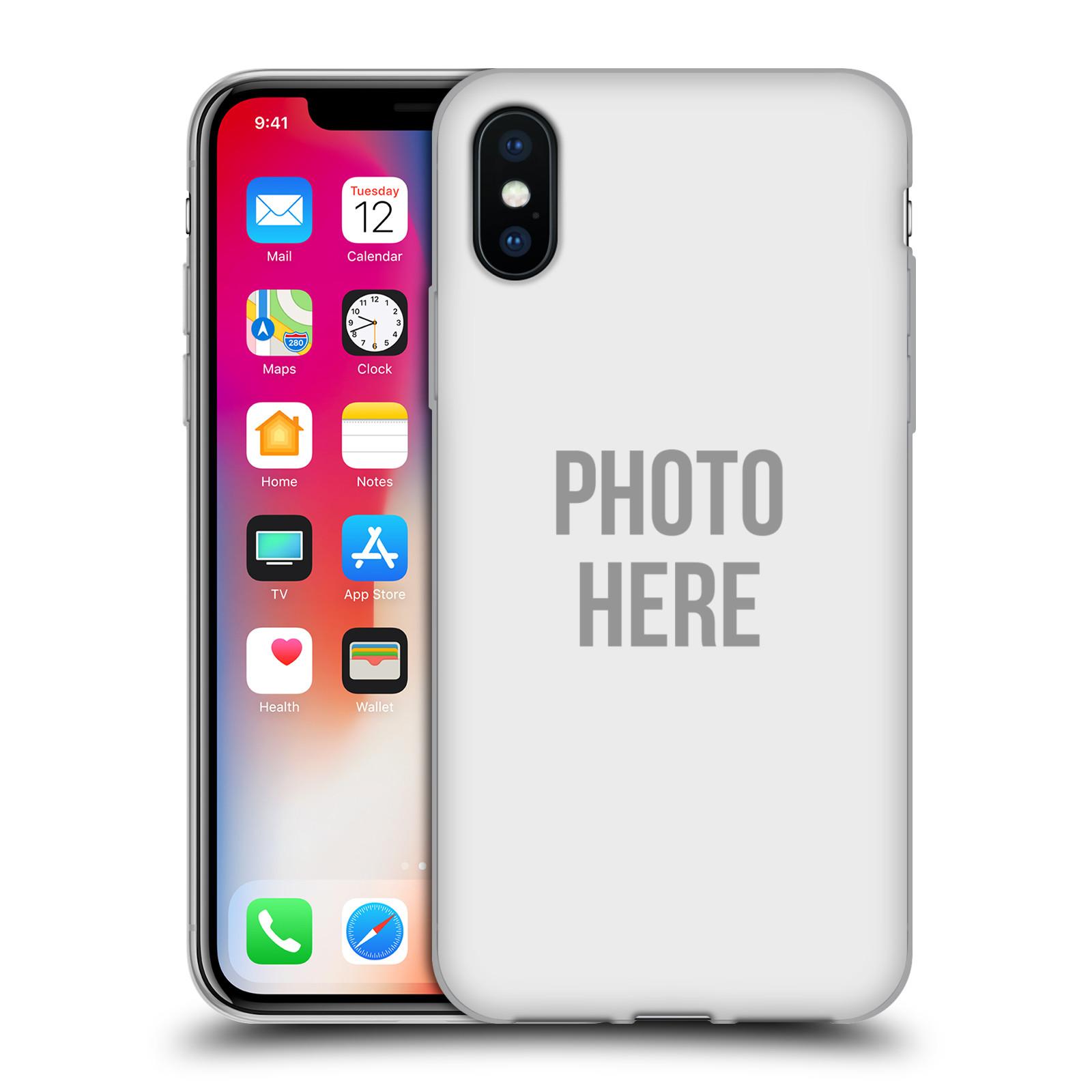 Silikonové pouzdro na mobil Apple iPhone XS - Head Case - s vlastním motivem