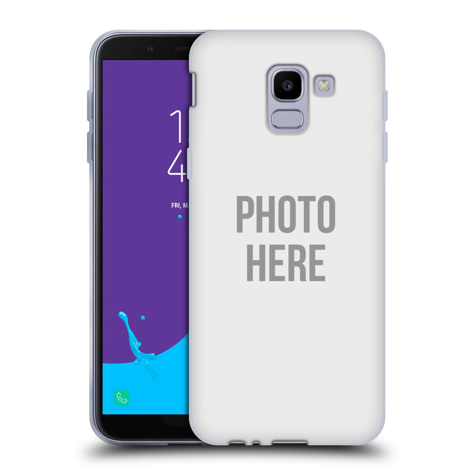 Silikonové pouzdro na mobil Samsung Galaxy J6 (2018) - Head Case - s vlastním motivem