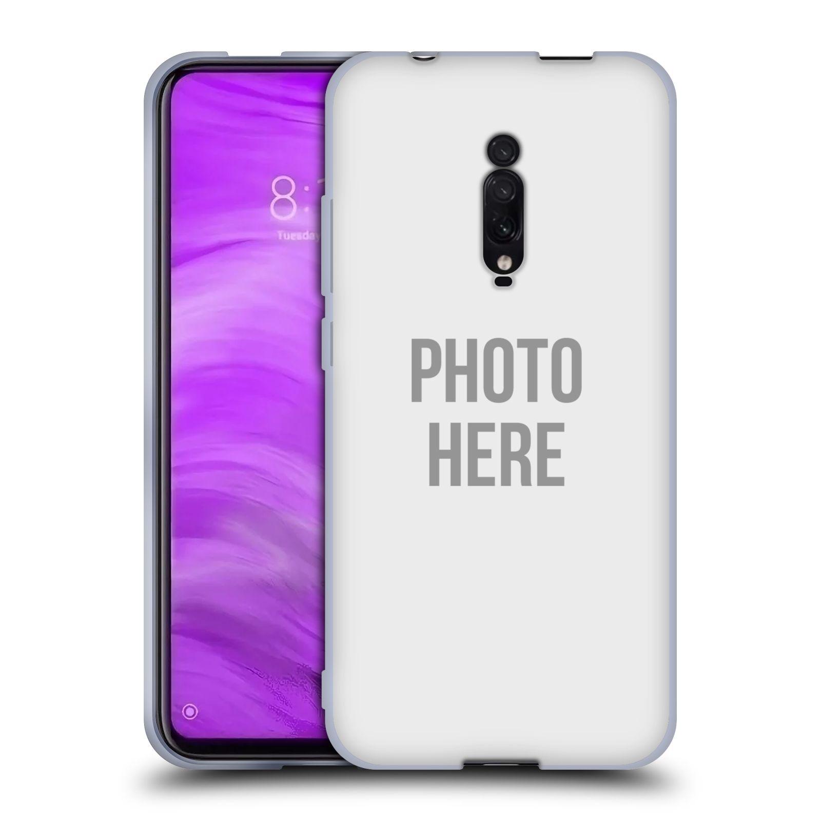 Silikonové pouzdro na mobil Xiaomi Mi 9T - Head Case - s vlastním motivem