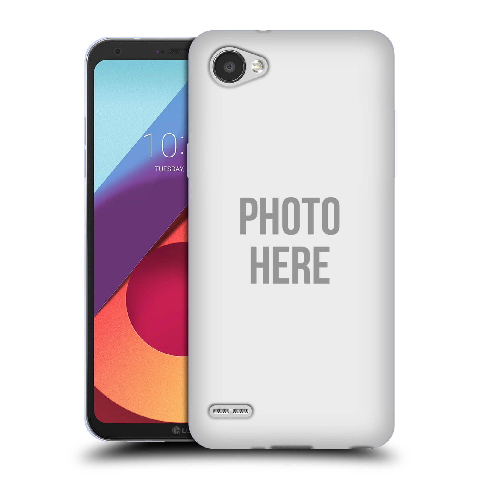 Silikonové pouzdro na mobil LG Q6 - Head Case - s vlastním motivem
