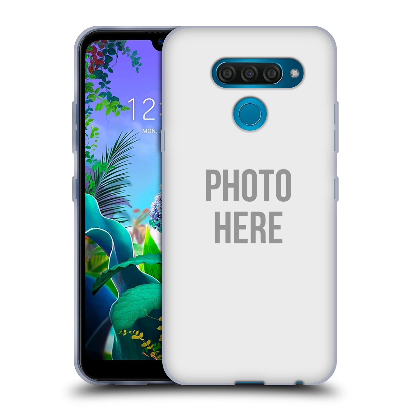 Silikonové pouzdro na mobil LG Q60 - Head Case - s vlastním motivem