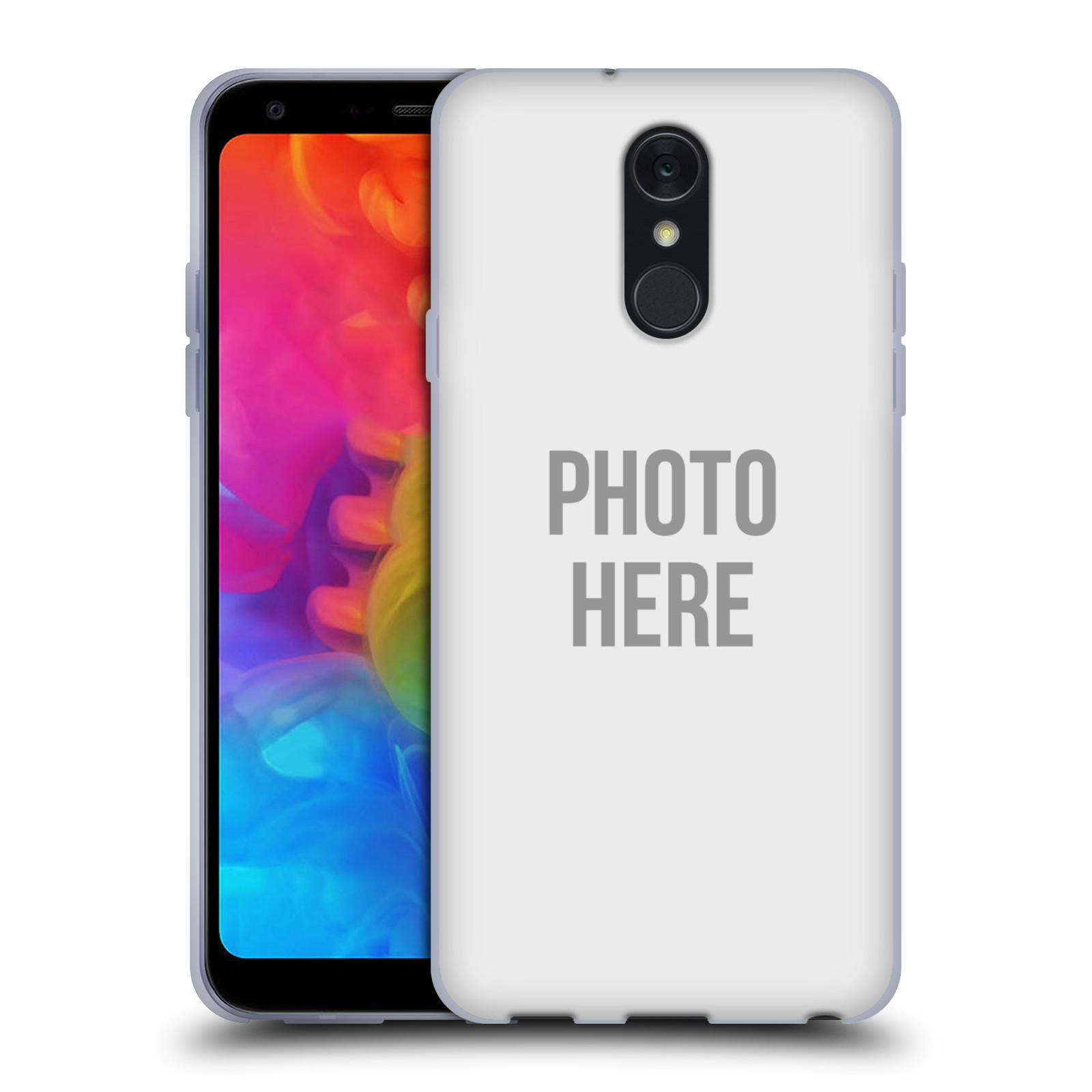 Silikonové pouzdro na mobil LG Q7 - Head Case - s vlastním motivem