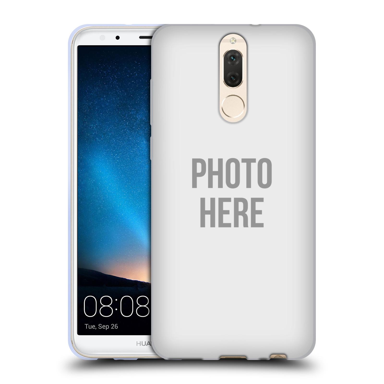 Silikonové pouzdro na mobil Huawei Mate 10 Lite - Head Case - s vlastním motivem