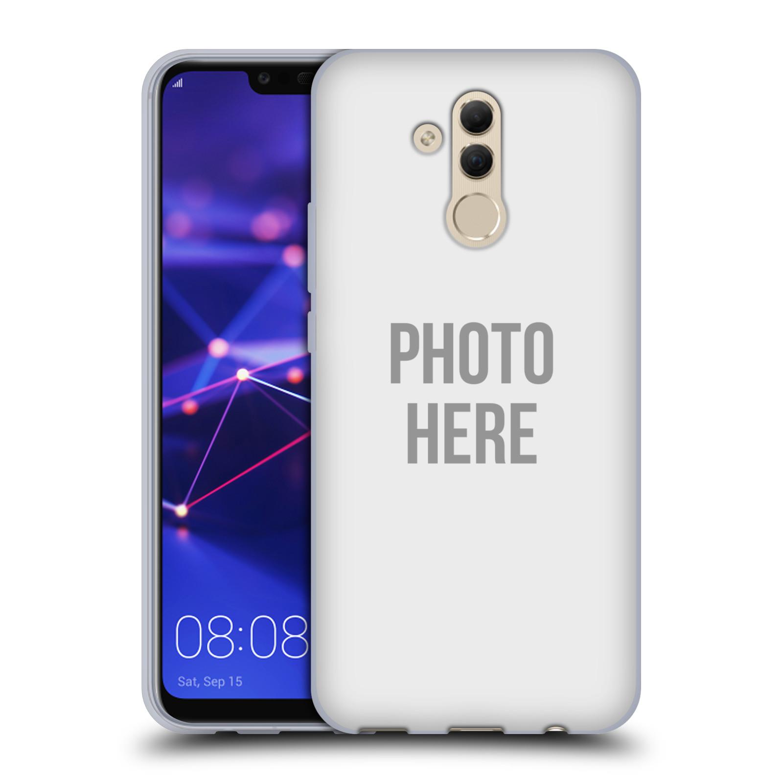Silikonové pouzdro na mobil Huawei Mate 20 Lite - Head Case - s vlastním motivem