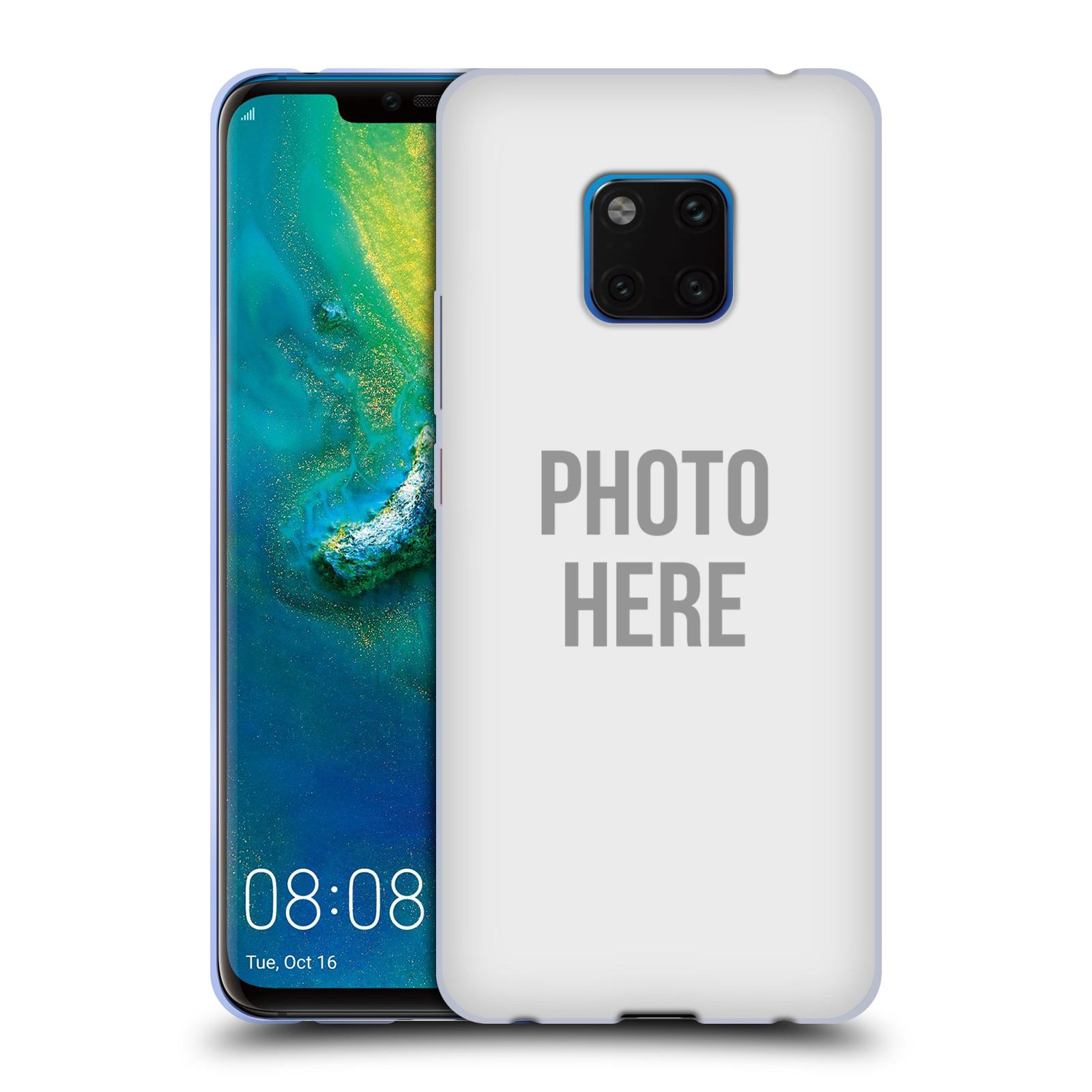 Silikonové pouzdro na mobil Huawei Mate 20 Pro - Head Case - s vlastním motivem