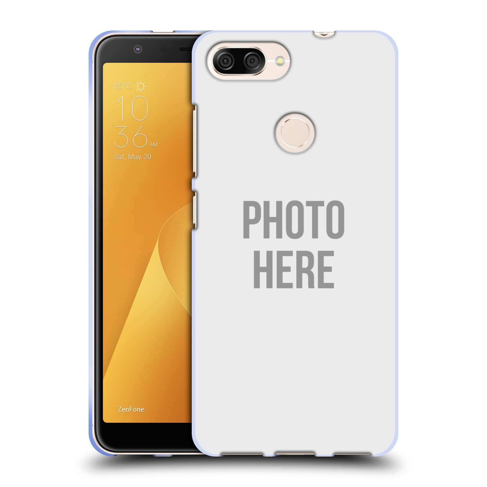 Silikonové pouzdro na mobil Asus ZenFone Max Plus (M1) - Head Case - s vlastním motivem