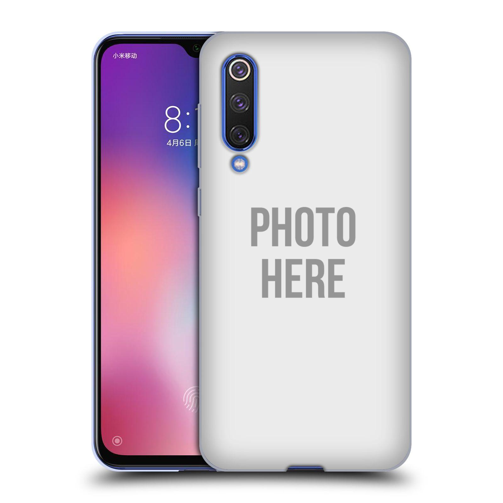 Silikonové pouzdro na mobil Xiaomi Mi 9 SE - Head Case - s vlastním motivem
