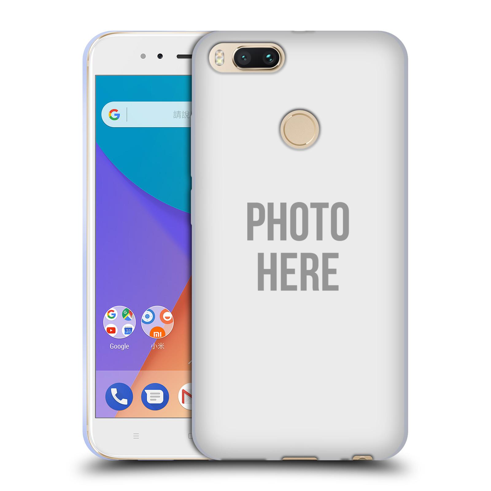 Silikonové pouzdro na mobil Xiaomi Mi A1 - Head Case - s vlastním motivem  empty 15a0dfca914