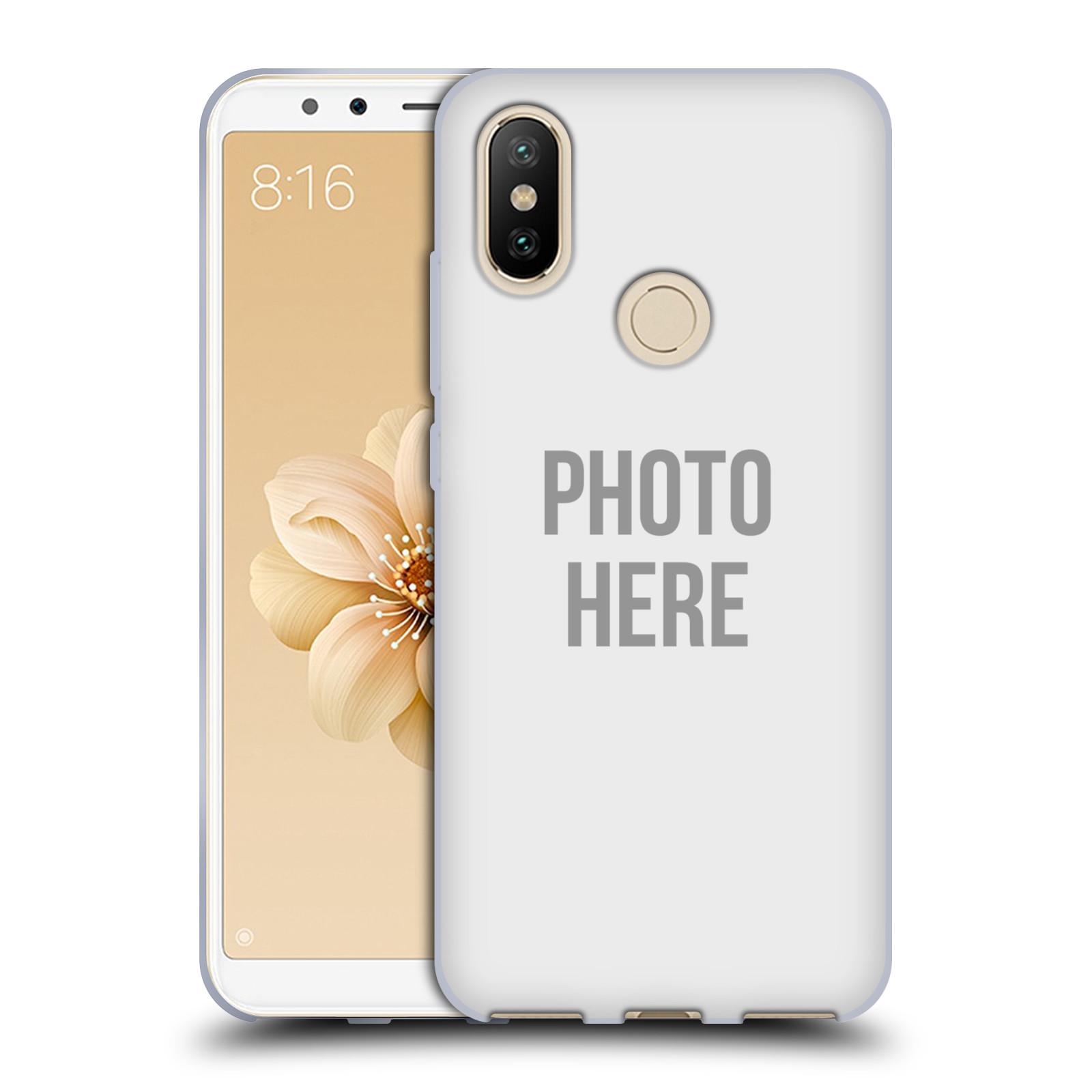 Silikonové pouzdro na mobil Xiaomi Mi A2 - Head Case - s vlastním motivem