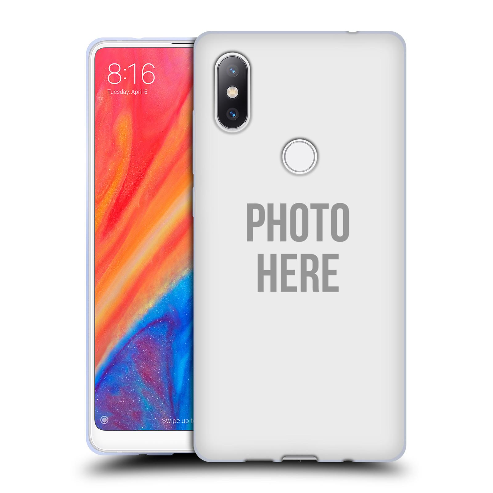 Silikonové pouzdro na mobil Xiaomi Mi Mix 2S - Head Case - s vlastním motivem