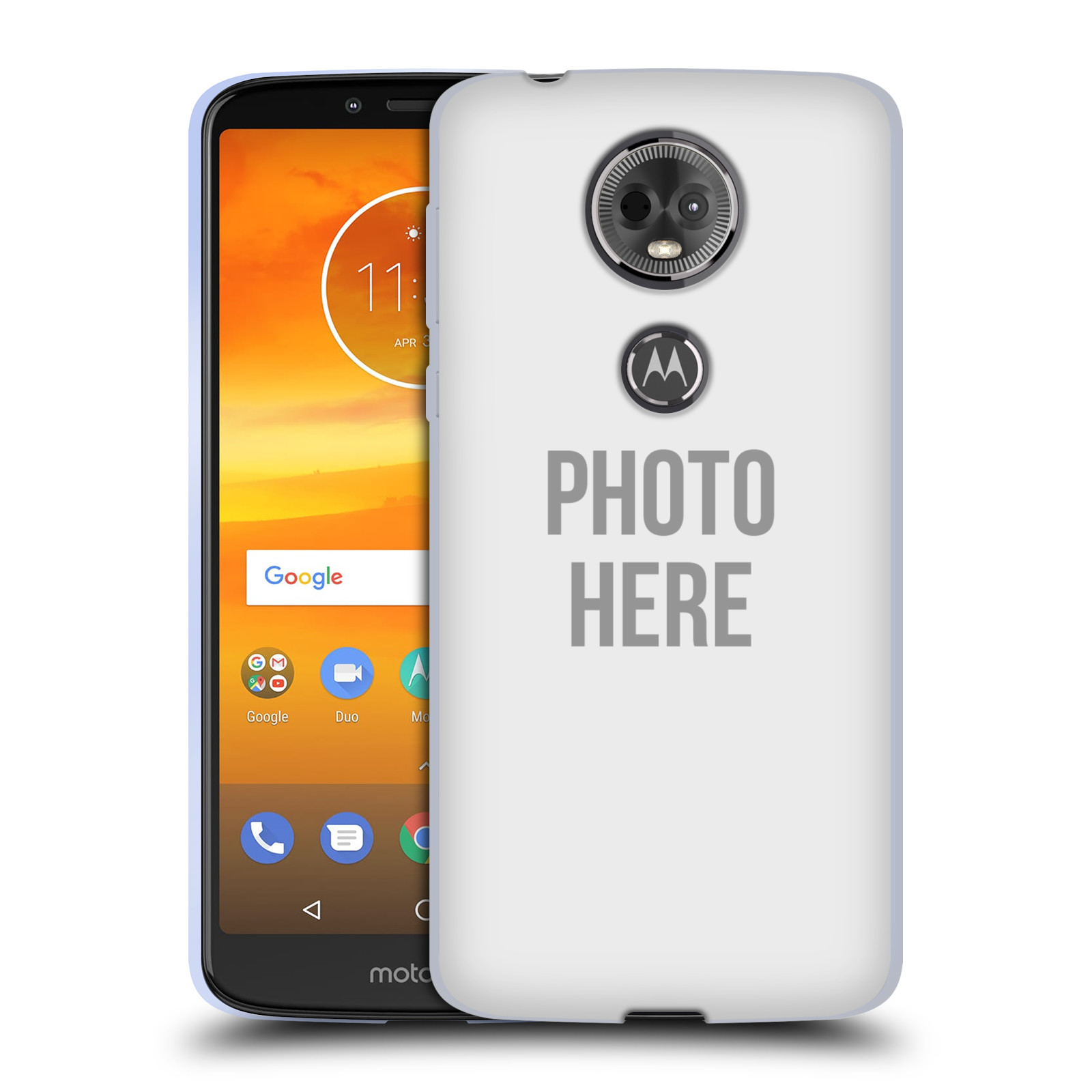 Silikonové pouzdro na mobil Motorola Moto E5 Plus - Head Case - s vlastním motivem