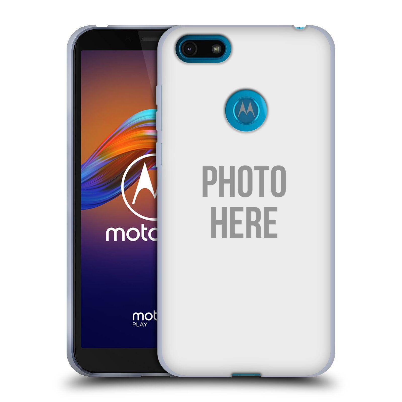Silikonové pouzdro na mobil Motorola Moto E6 Play - Head Case - s vlastním motivem