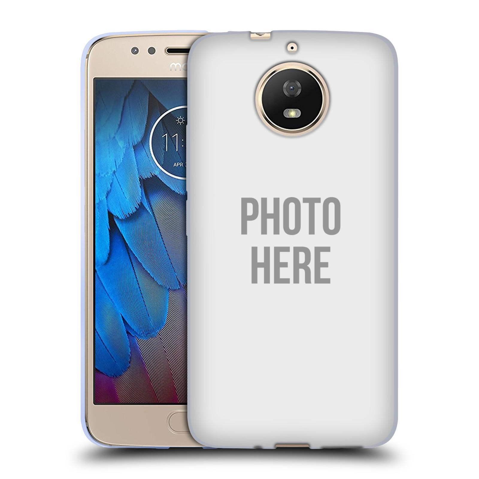 Silikonové pouzdro na mobil Lenovo Moto G5s - Head Case - s vlastním motivem