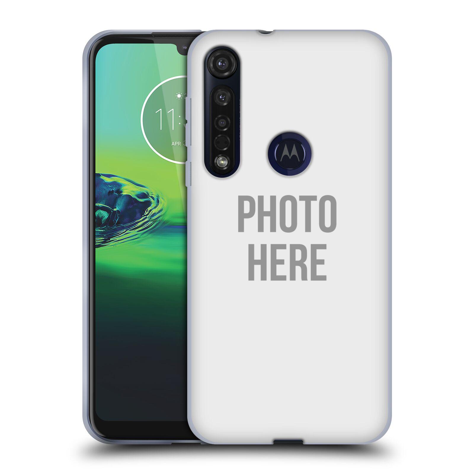 Silikonové pouzdro na mobil Motorola Moto G8 Plus - Head Case - s vlastním motivem