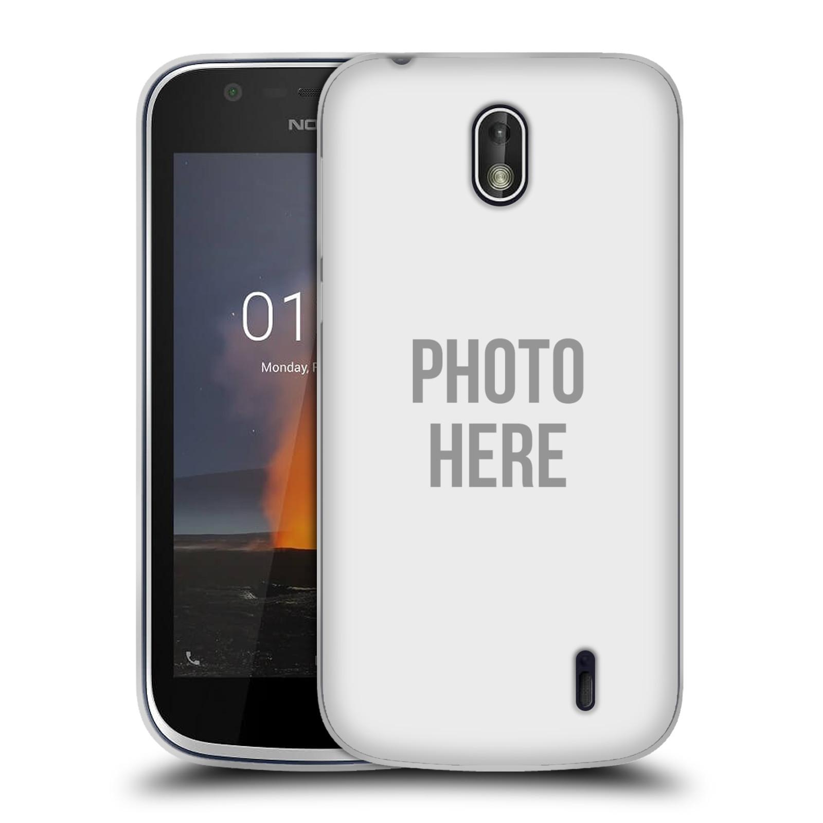 Silikonové pouzdro na mobil Nokia 1 - Head Case - s vlastním motivem