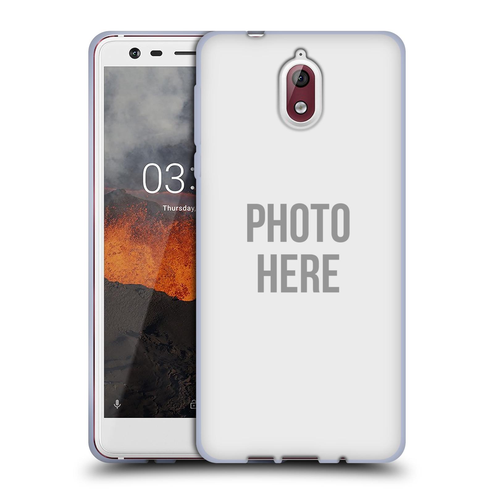 Silikonové pouzdro na mobil Nokia 3.1 - Head Case - s vlastním motivem