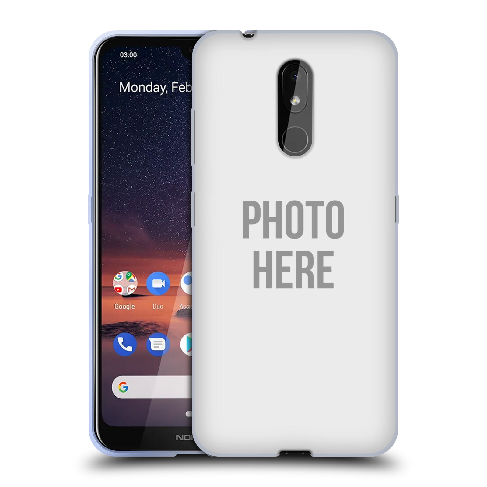 Silikonové pouzdro na mobil Nokia 3.2 - Head Case - s vlastním motivem