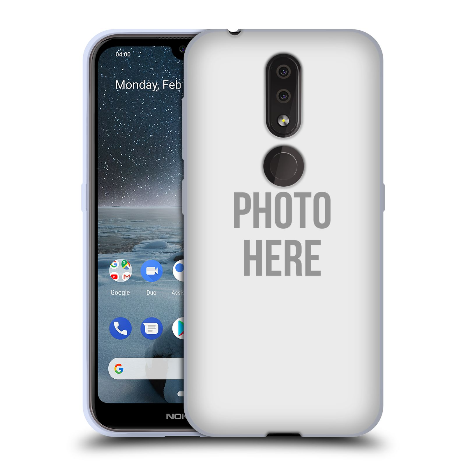 Silikonové pouzdro na mobil Nokia 4.2 - Head Case - s vlastním motivem
