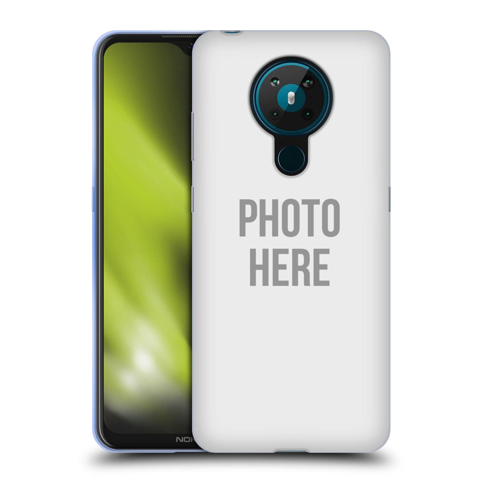 Silikonové pouzdro na mobil Nokia 5.3 s vlastním motivem